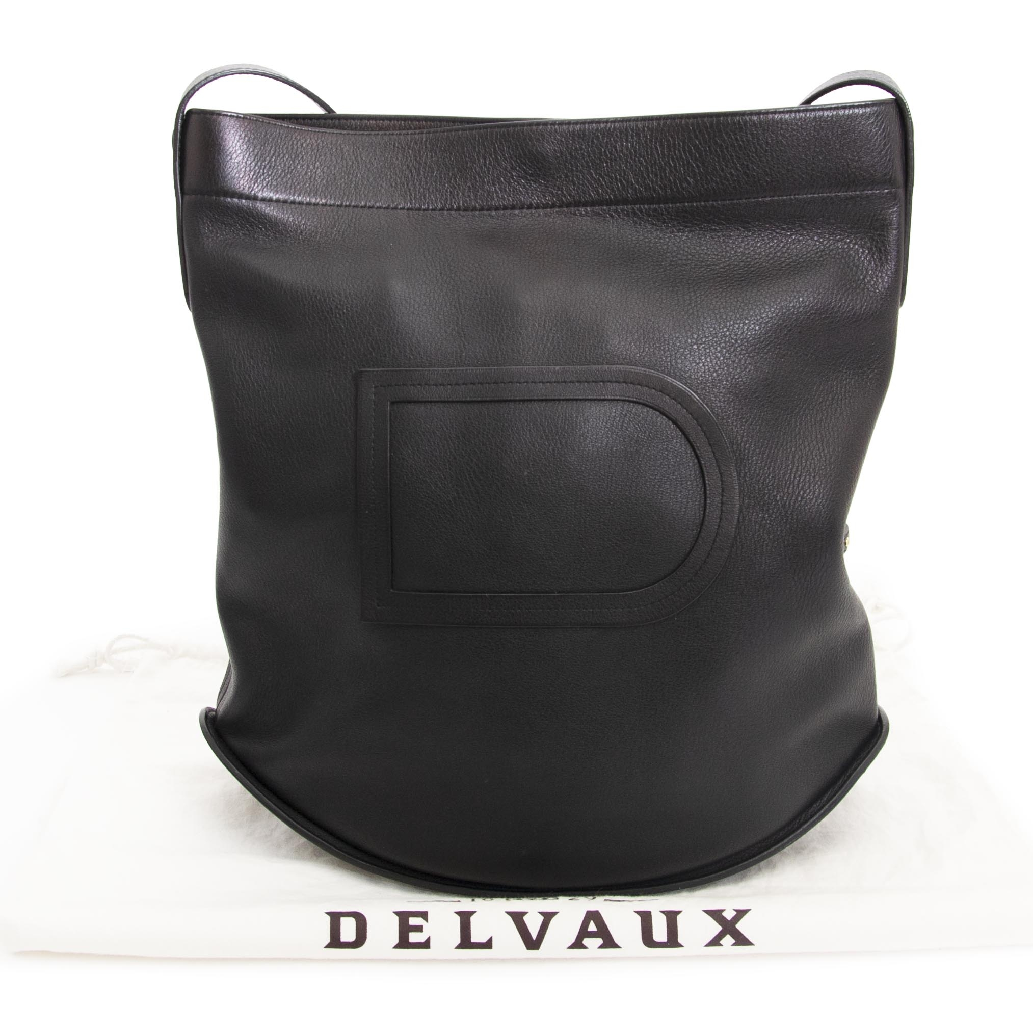 Delvaux Black Le Pin Shoulder Bag  veilig online kopen tegen de beste prijs