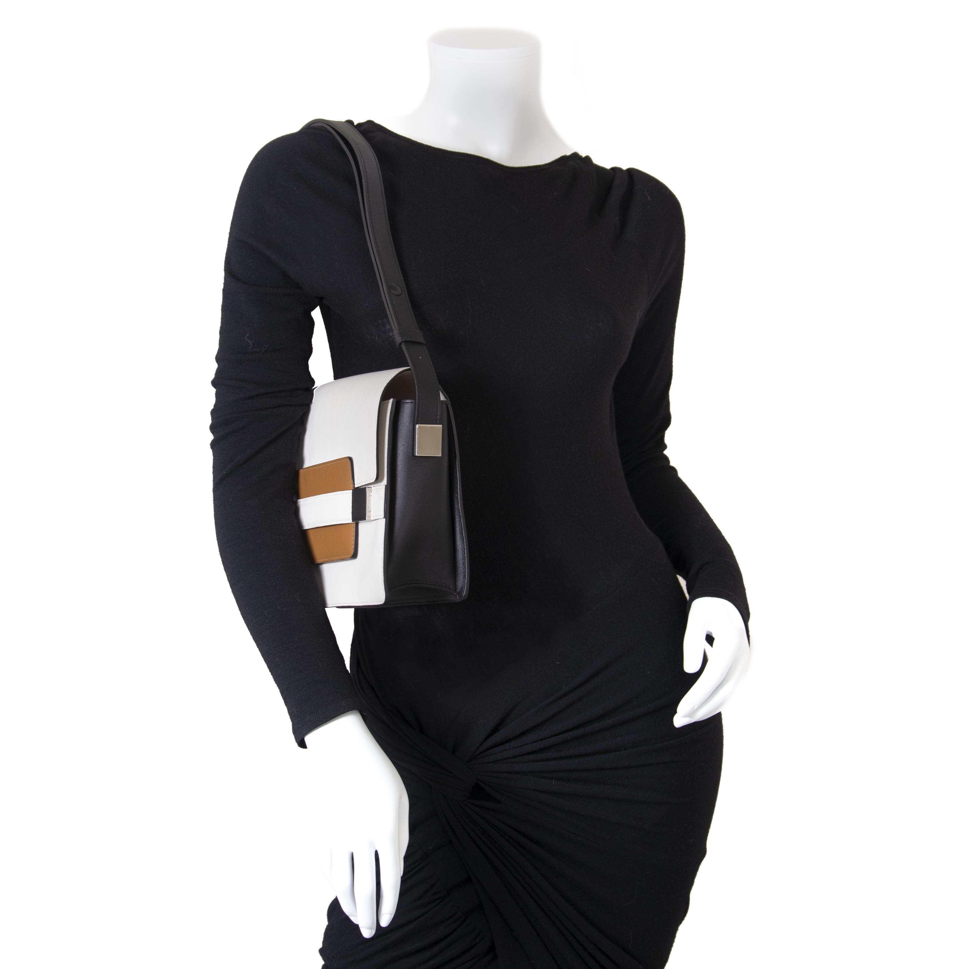 Koop en verkoop uw authentieke Delvaux Madame Tricolor Shoulder Bag