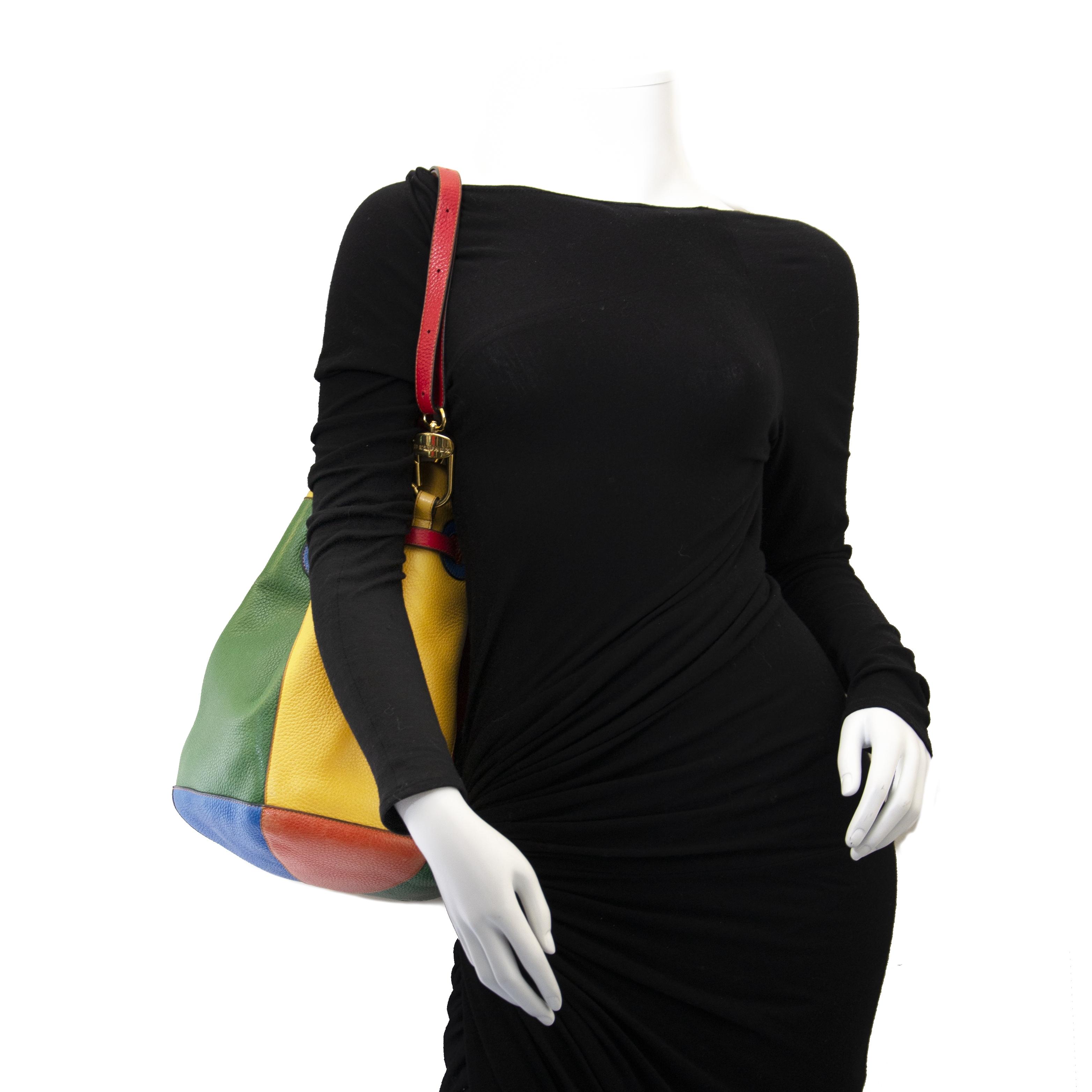 Delvaux Multicolor Nomade Bucket Bag  onlien for the best price