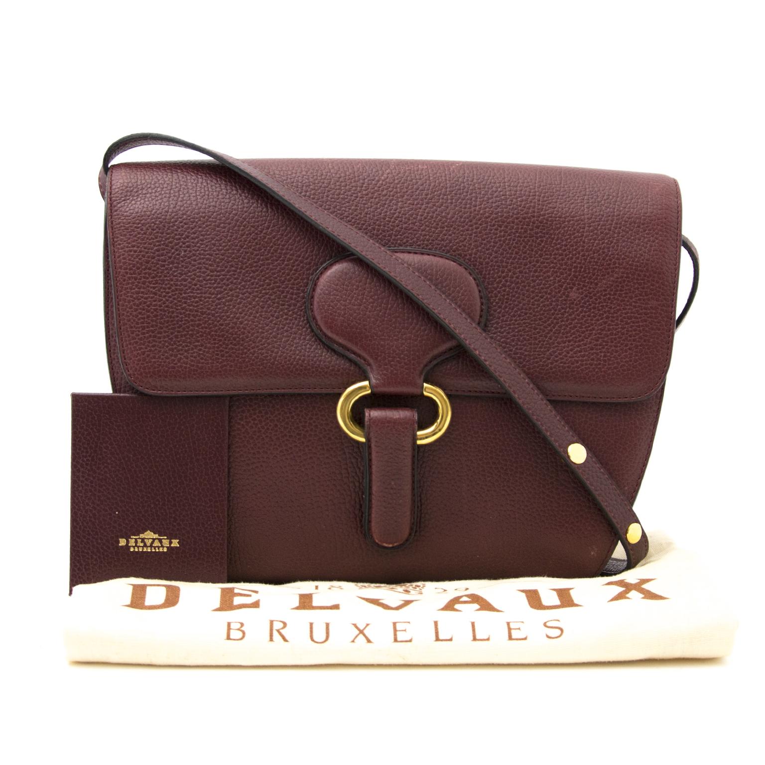 Shop safe and secure Delvaux Bordeaux Cross Body at Labellov.com