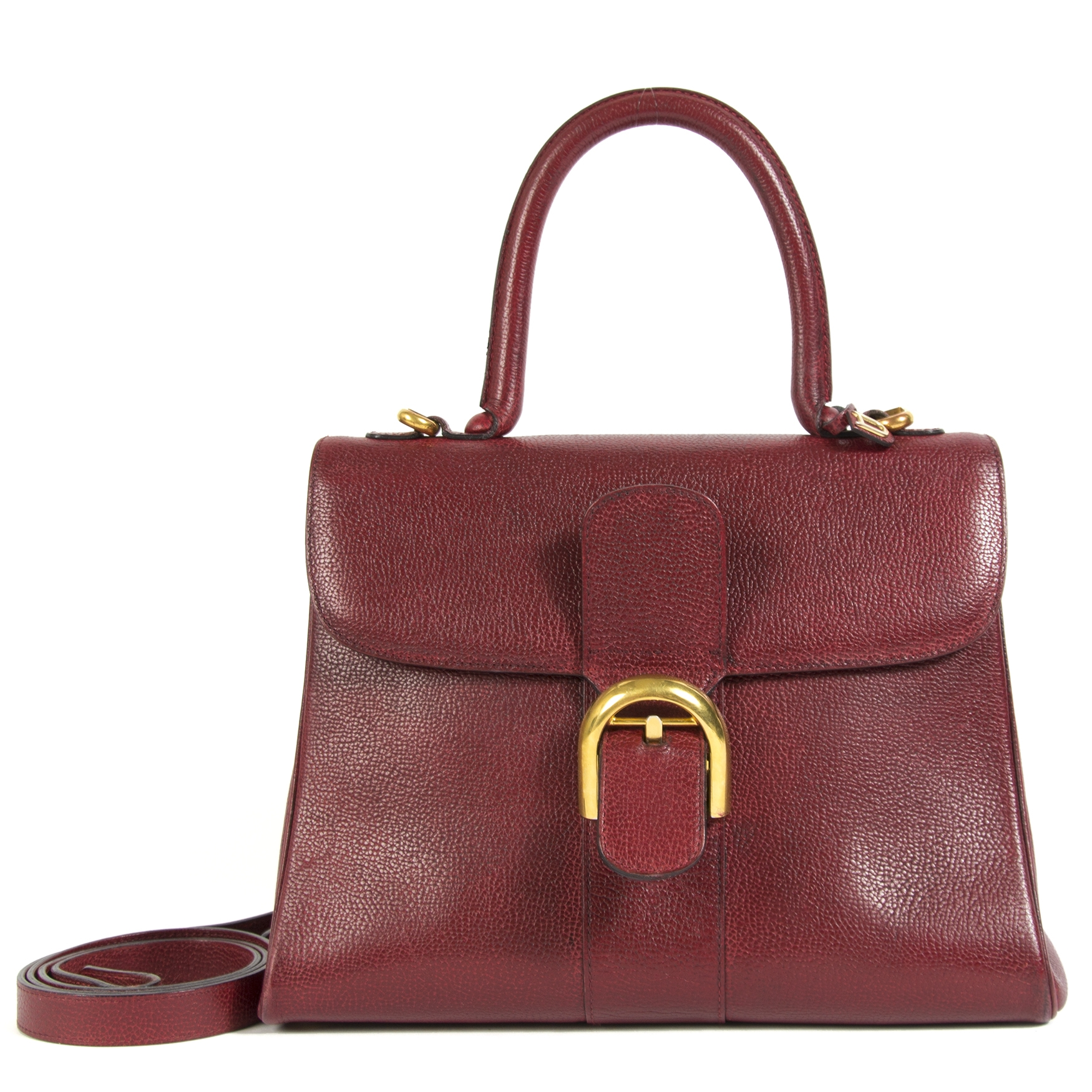 Delvaux Brillant MM Burgundy
