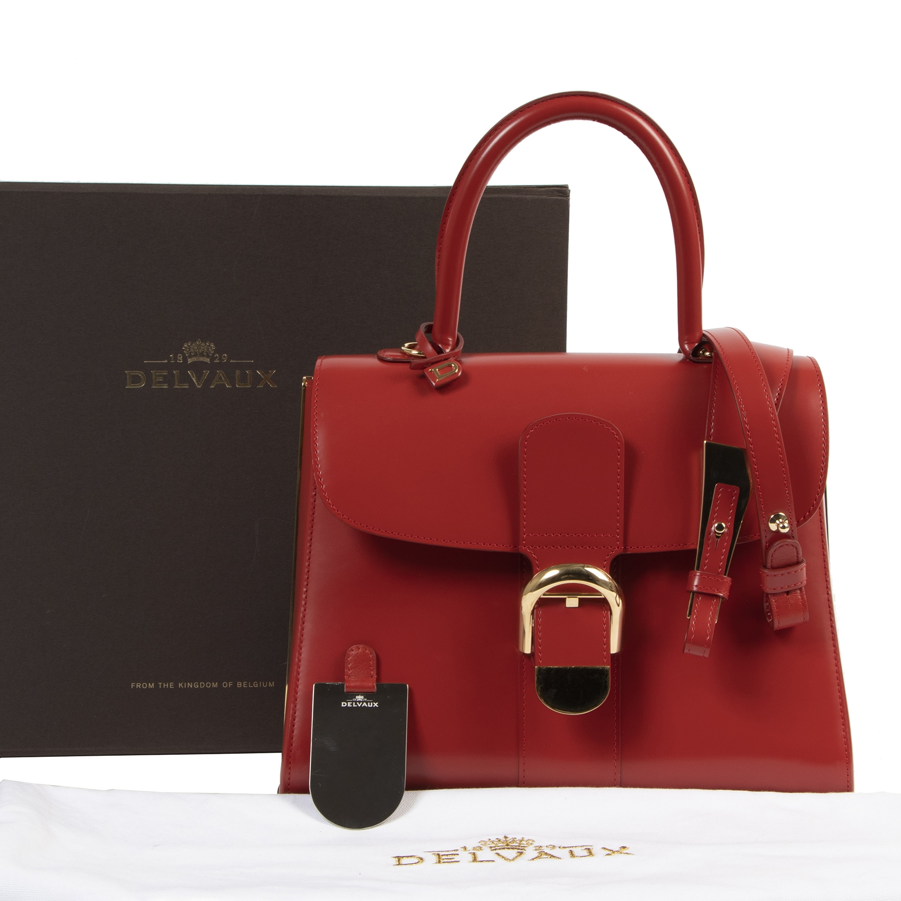skip the waiting list Delvaux Bordeaux Brillant Diva + Strap
