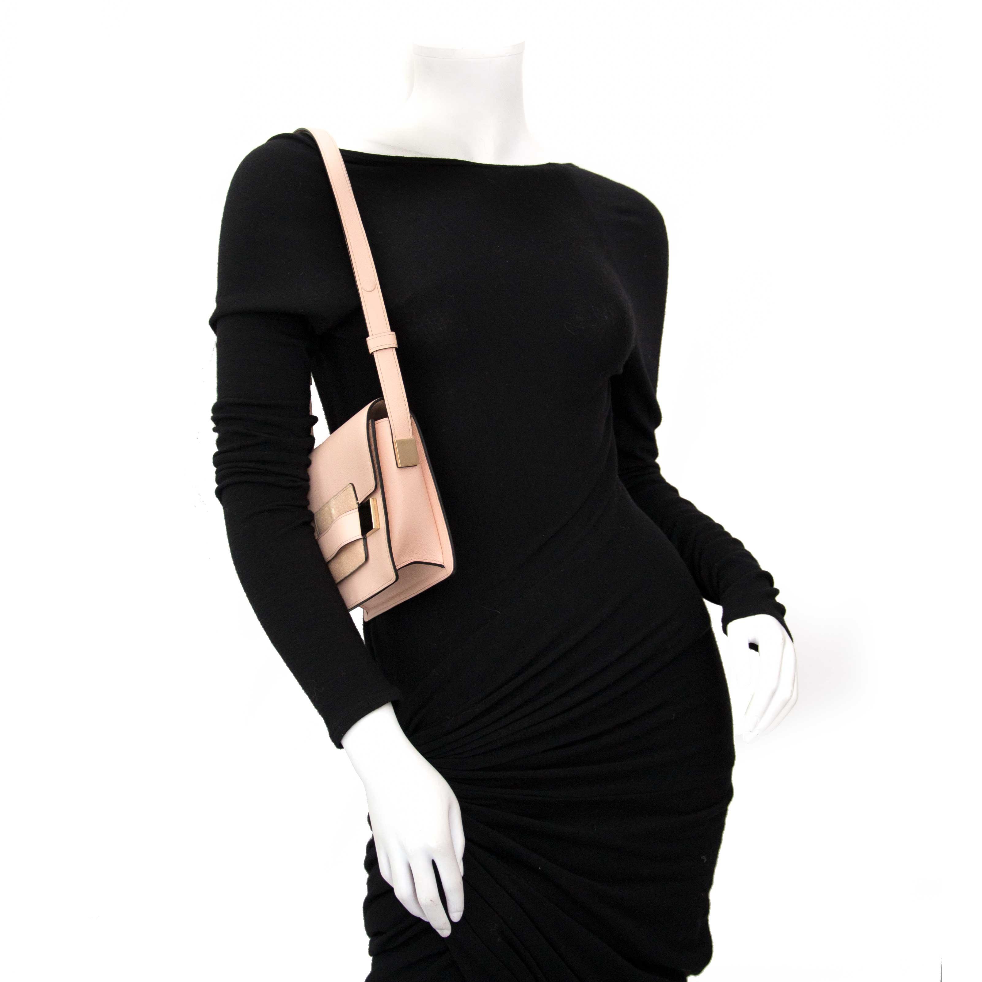 koop veilig online jou tweedehands Delvaux Dusty Pink Le Madame Mini