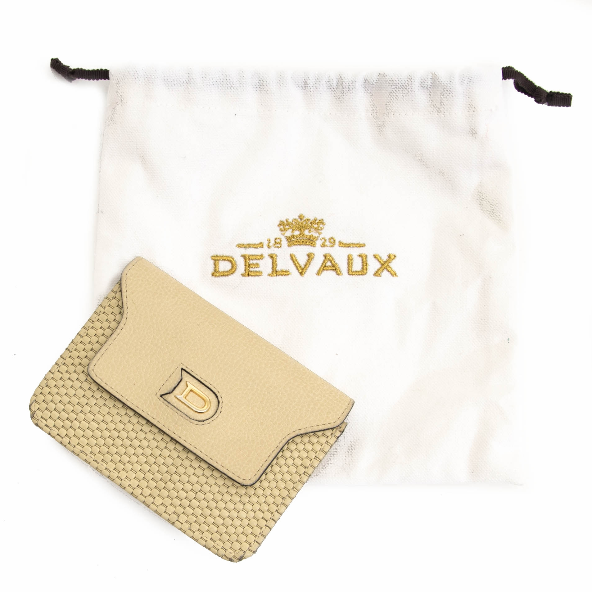 looking for a Delvaux Toile de Cuir Coin Purse? now online for the best price at labellov.com