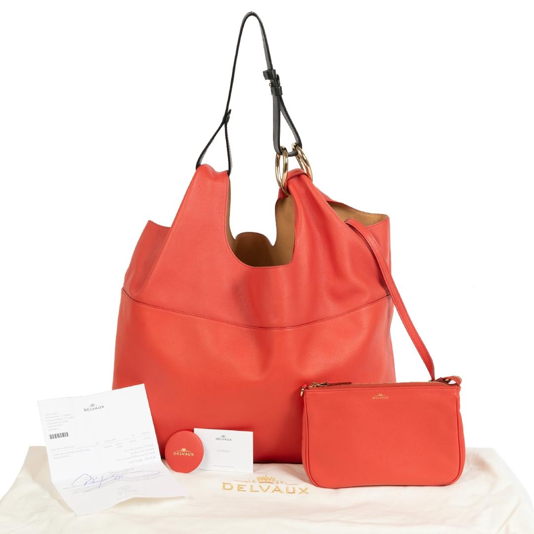 Delvaux Givry With Me Polo Sunset Suns Shoulder Bag kopen en verkopen aan de beste prijs