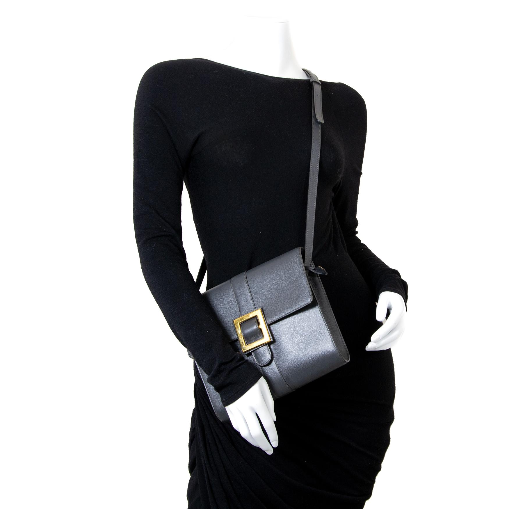 Delvaux Grey Tendresse Jumping Bag te koop bij Labellov tweedehands luxe in Antwerpen