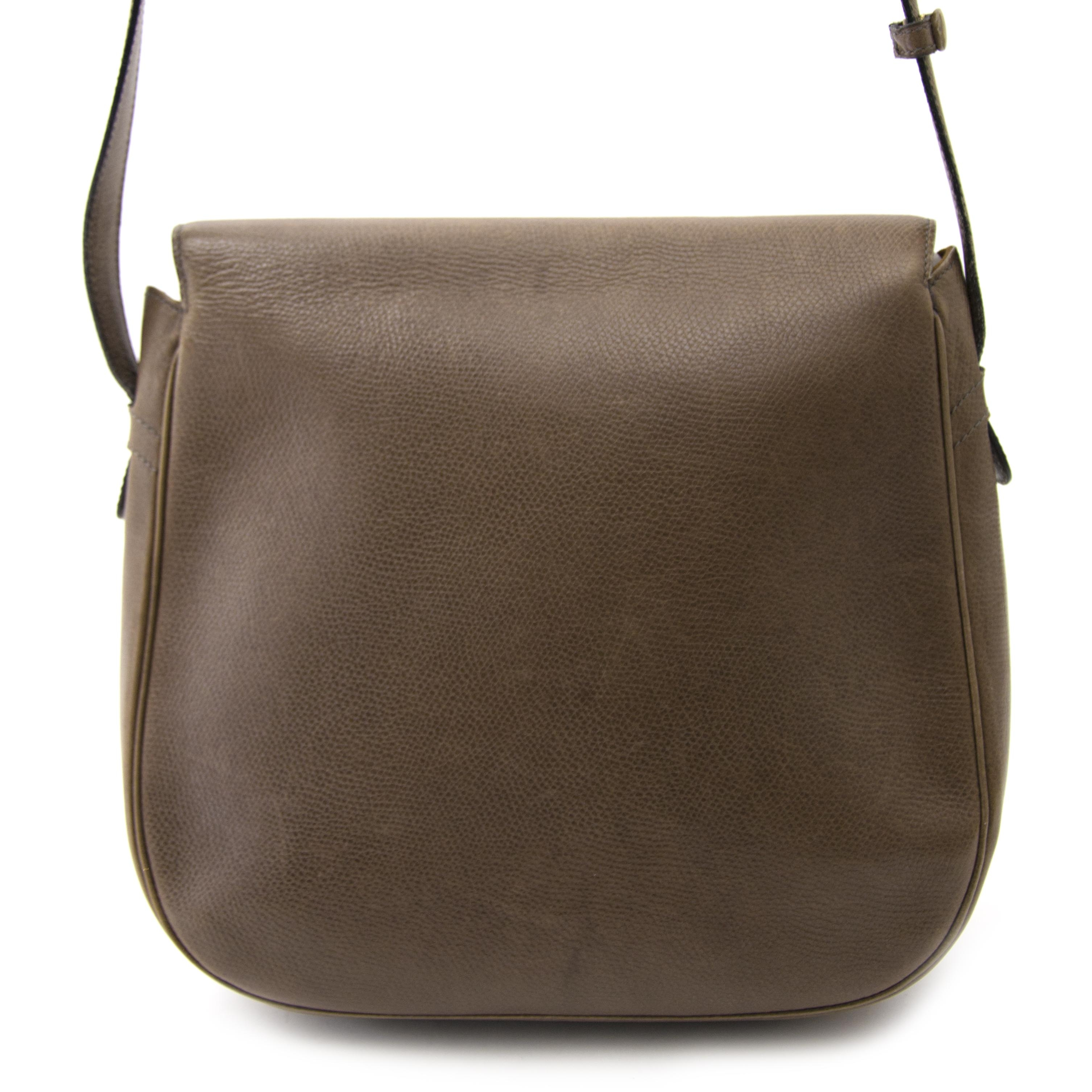 50458af6f283 ... buy Delvaux Taupe Leather Crossbody Bag at labellov for the best price