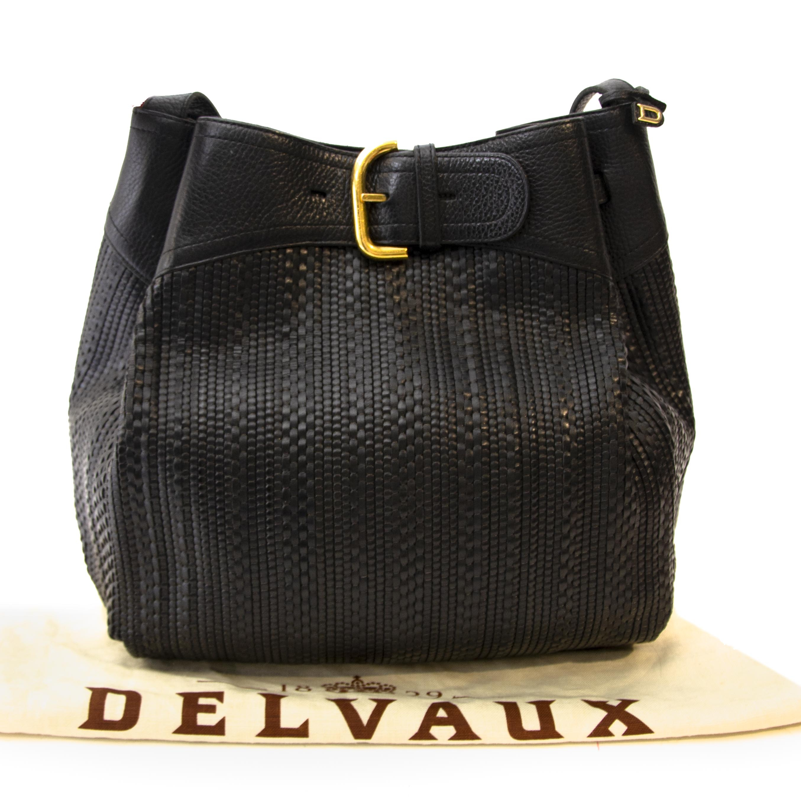 Vintage Delvaux Toile de cuir bag at Labellov. Webshop with designer handbags