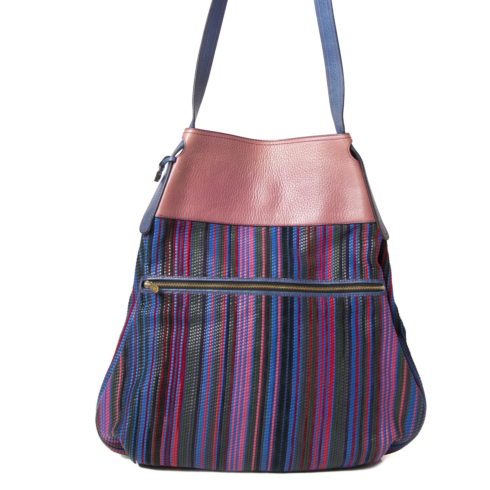 Delvaux Toile de Cuir Multi Large Bag kopen en verkopen