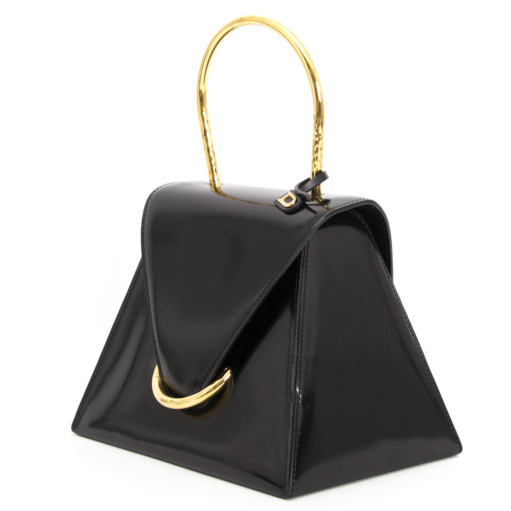 looking for a secondhand Delvaux Triangle Top Handle Bag