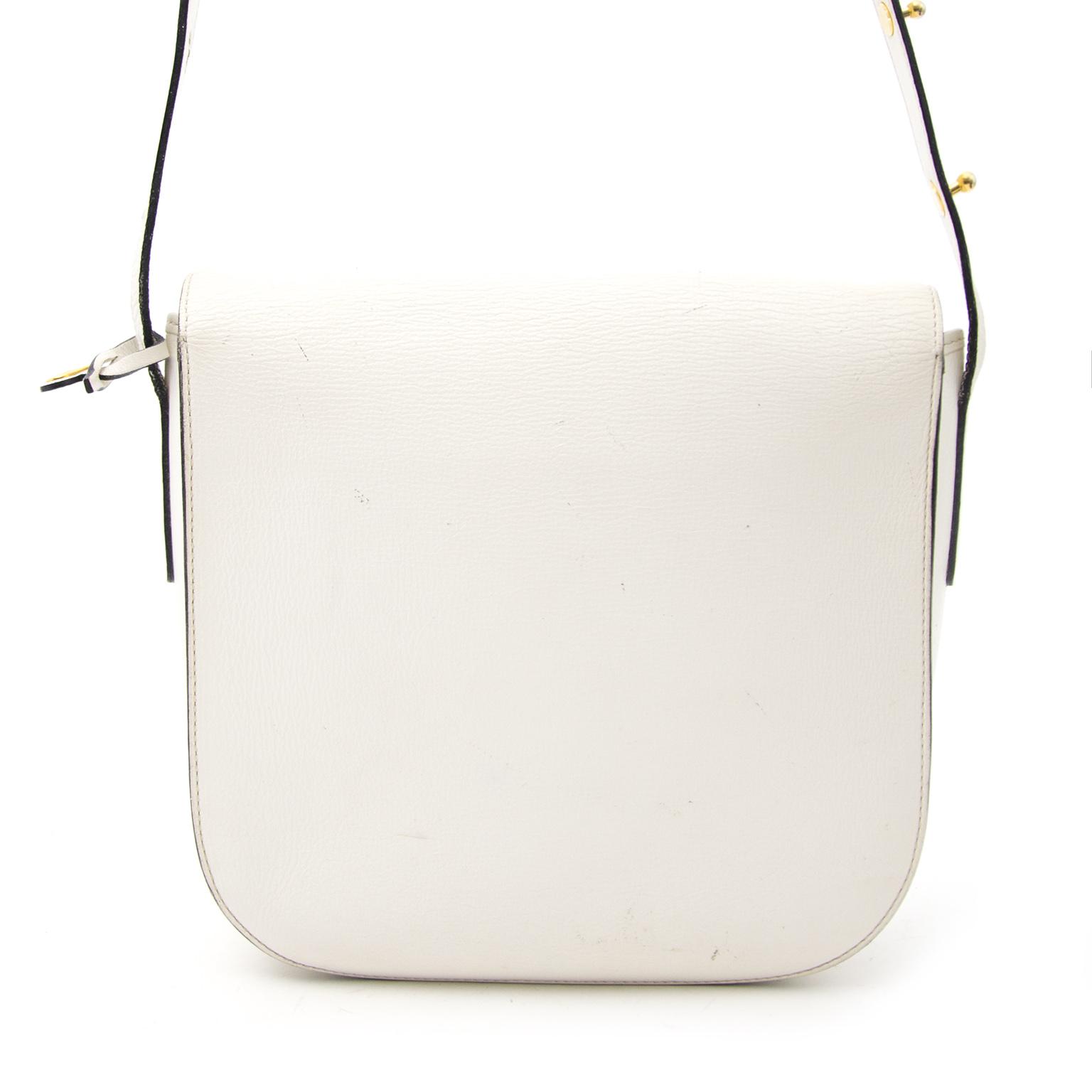 Shop safe online aan de beste prijs Delvaux White Shoulder Bag