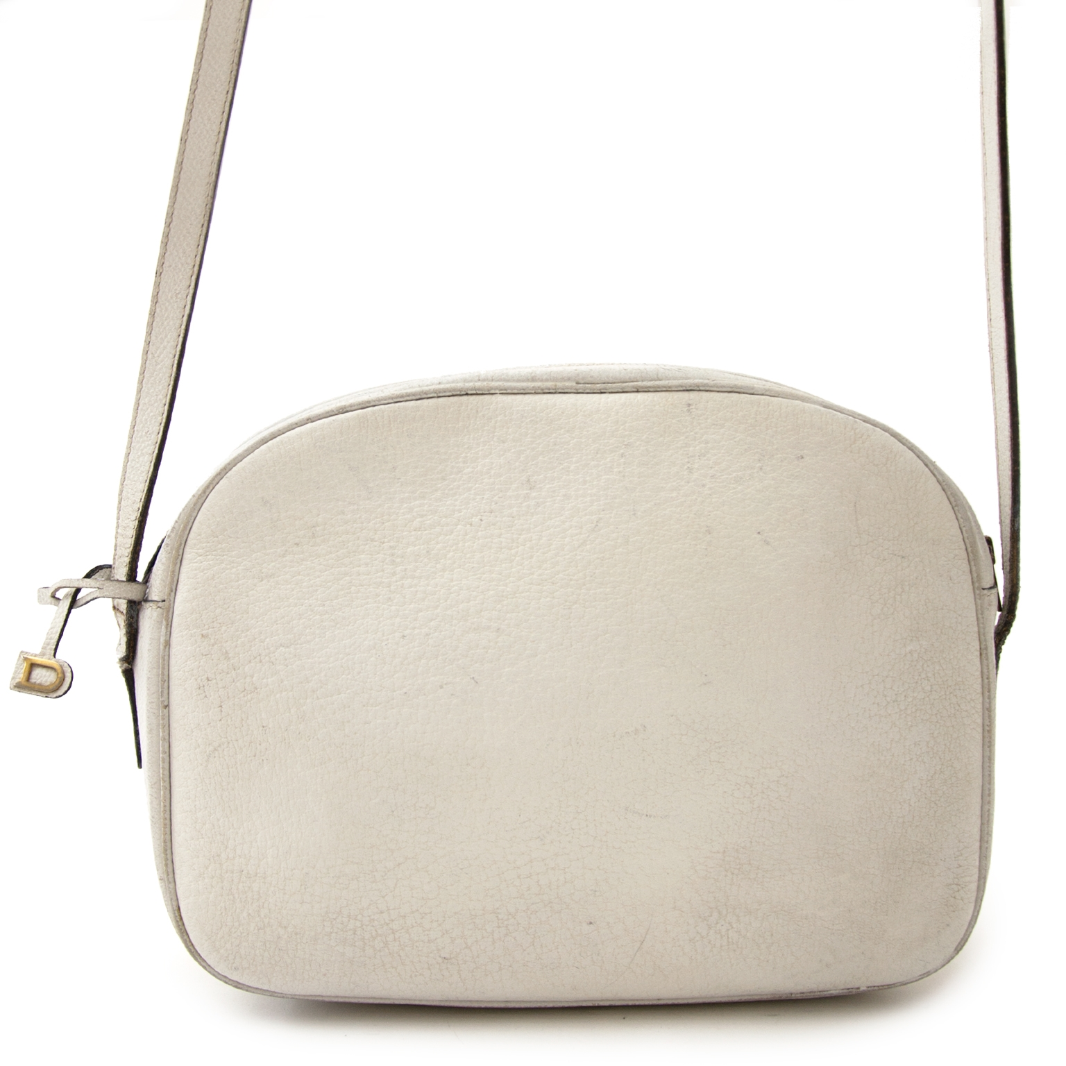 Delvaux Vintage White Crossbody Bag