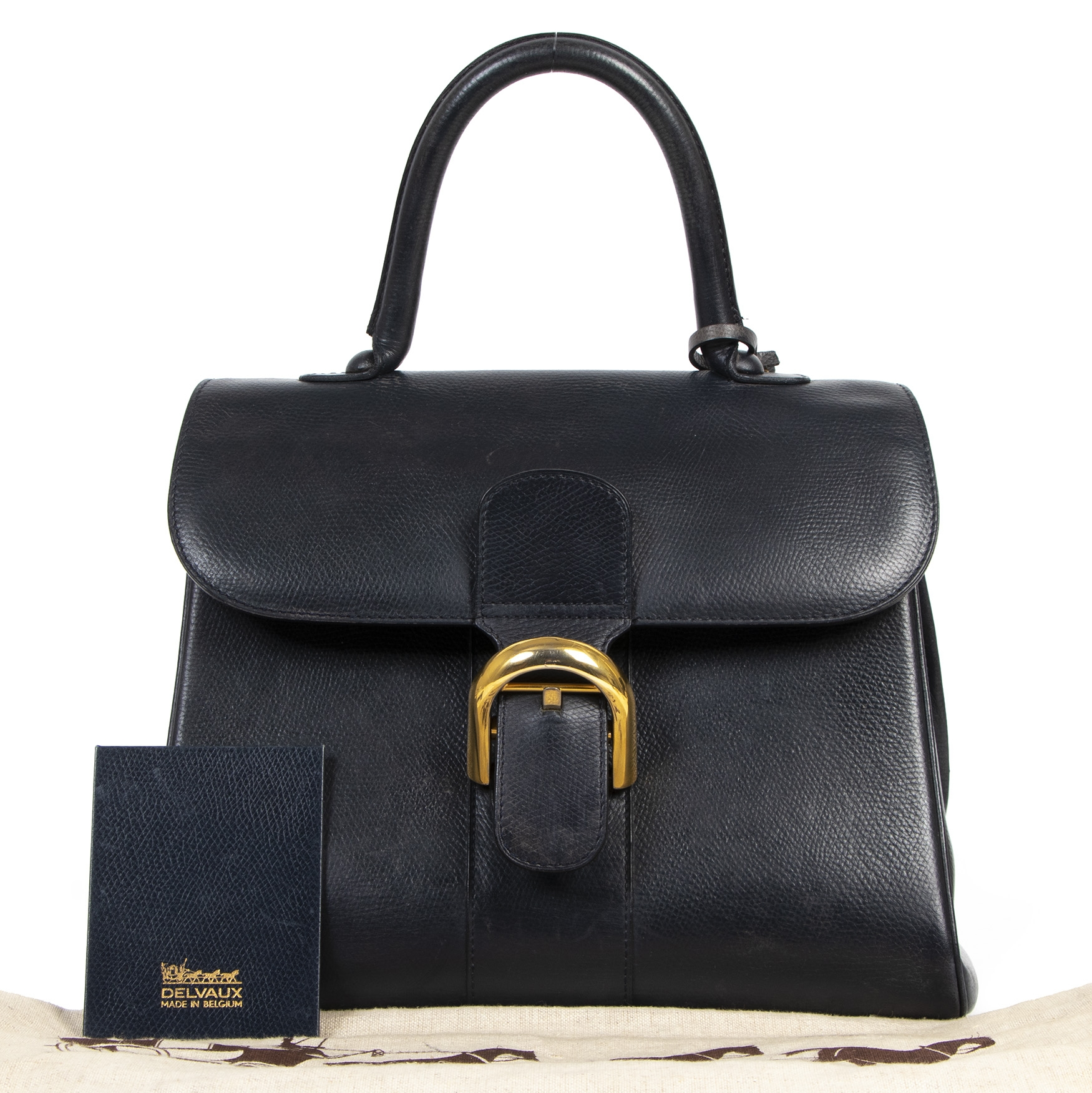 shop safe online Delvaux Brillant Pm Dark Blue