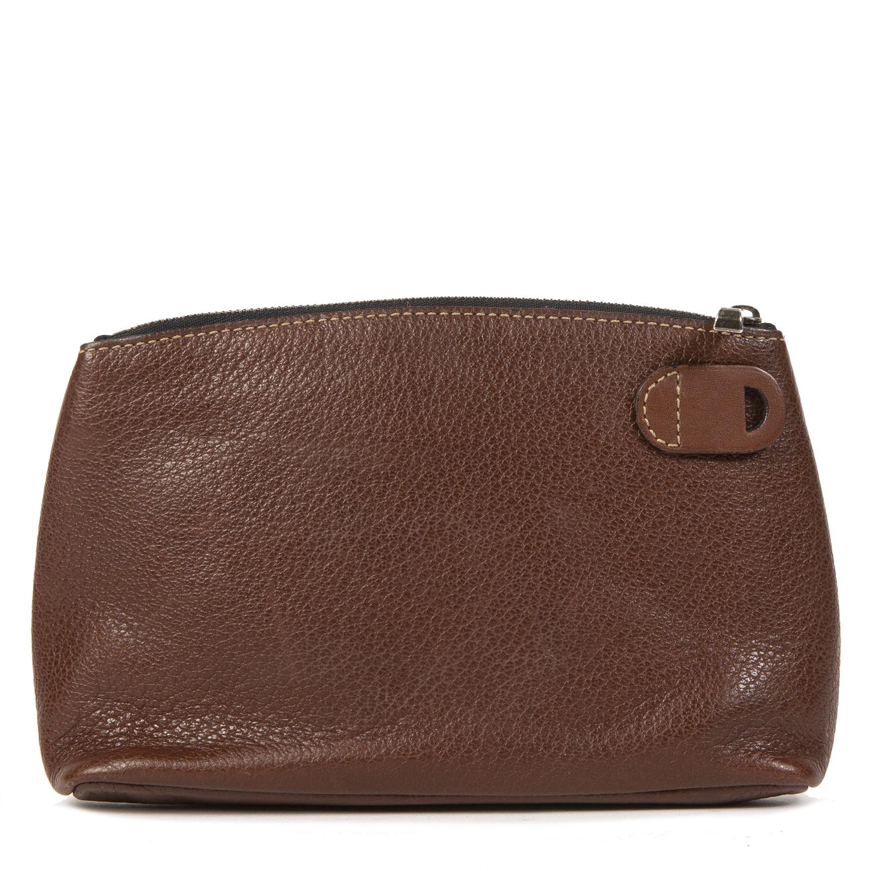 f80087d33ef koop online jou tweedehands delvaux pouch shop safe online your secondhand  Deux de delvaux pochette