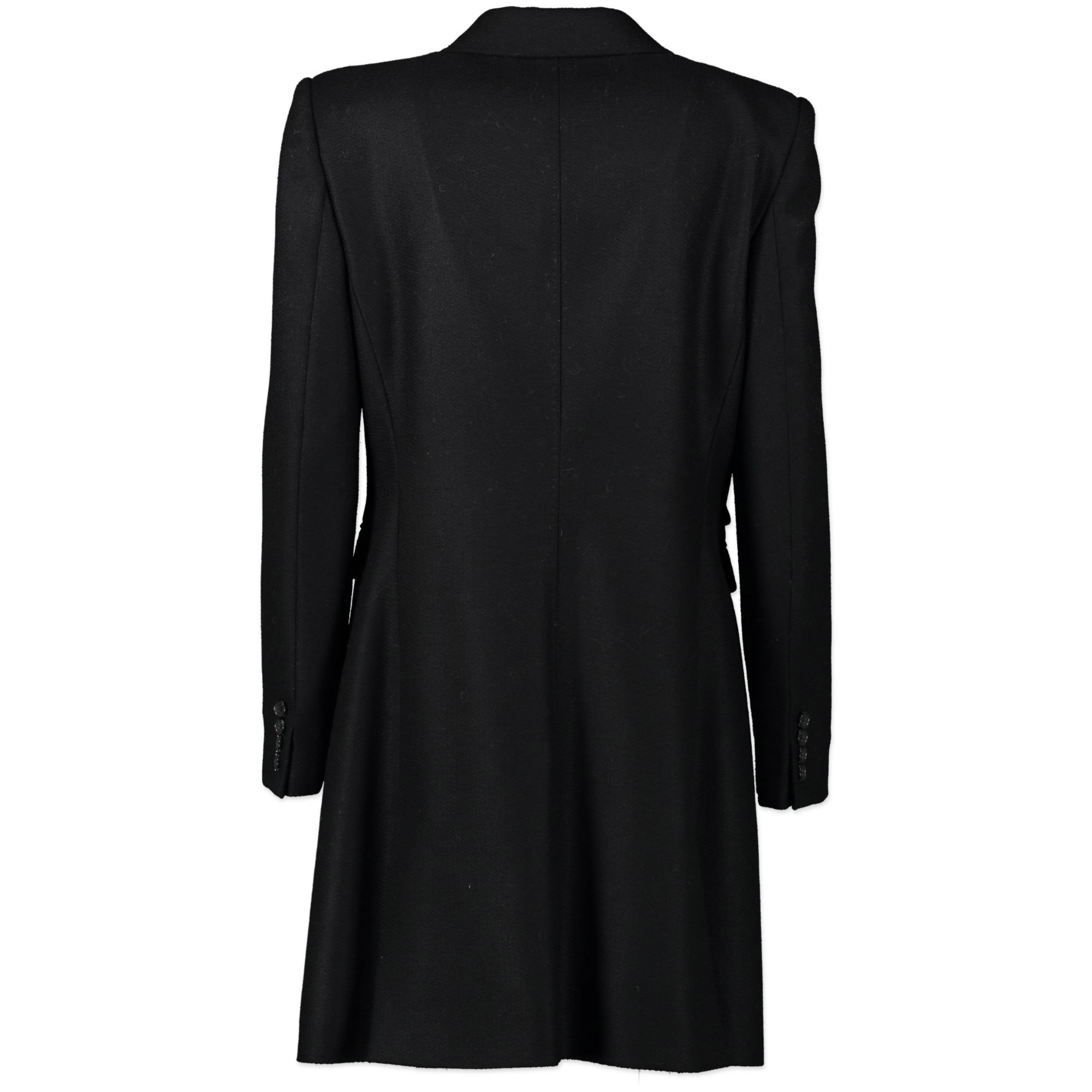 Dolce & Gabbana Black Coat for the best price at Labellov secondhand luxury in Antwerp