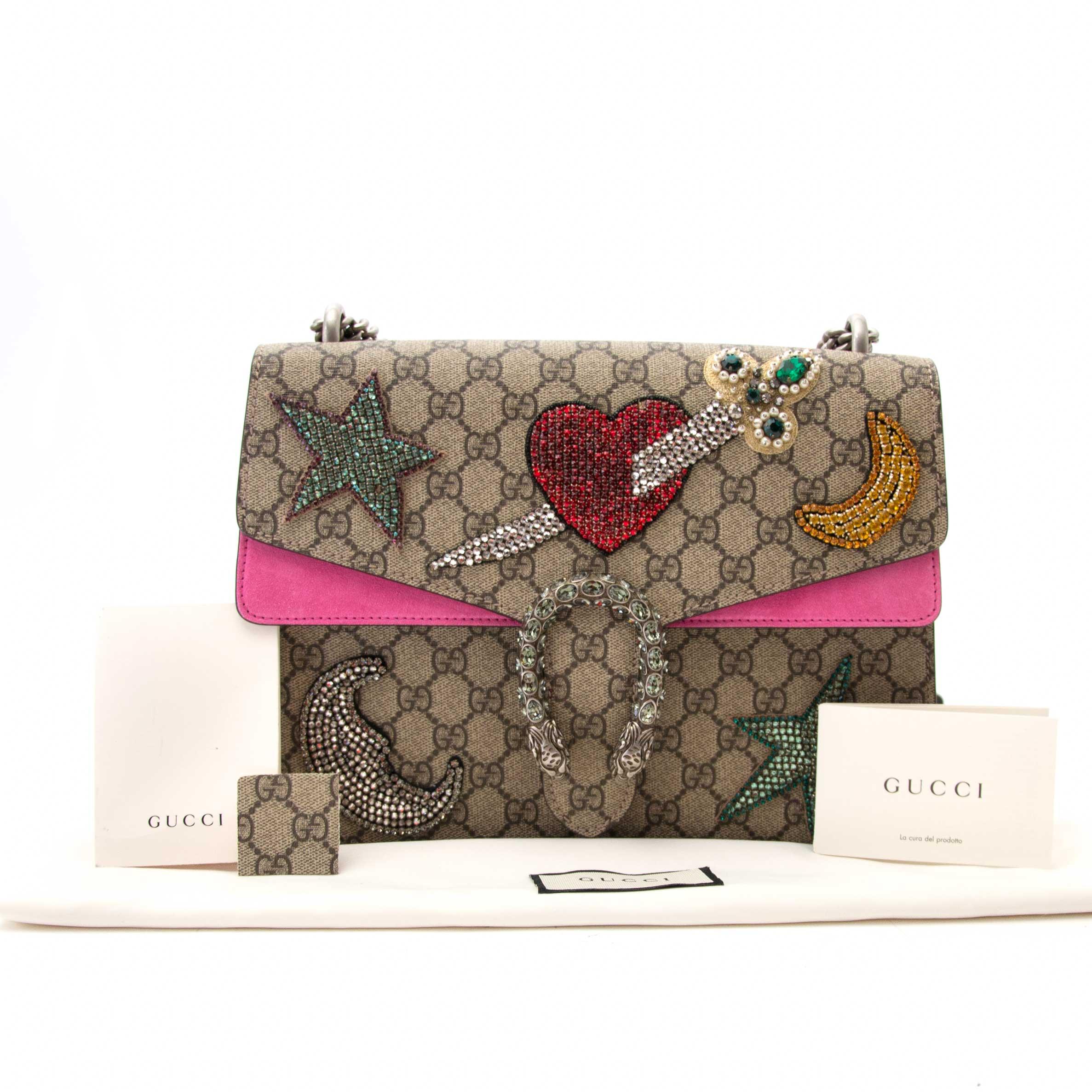 567a6efaf Gucci Dionysus Embroidered Shoulder Bag Gucci Dionysus Embroidered Shoulder  Bag