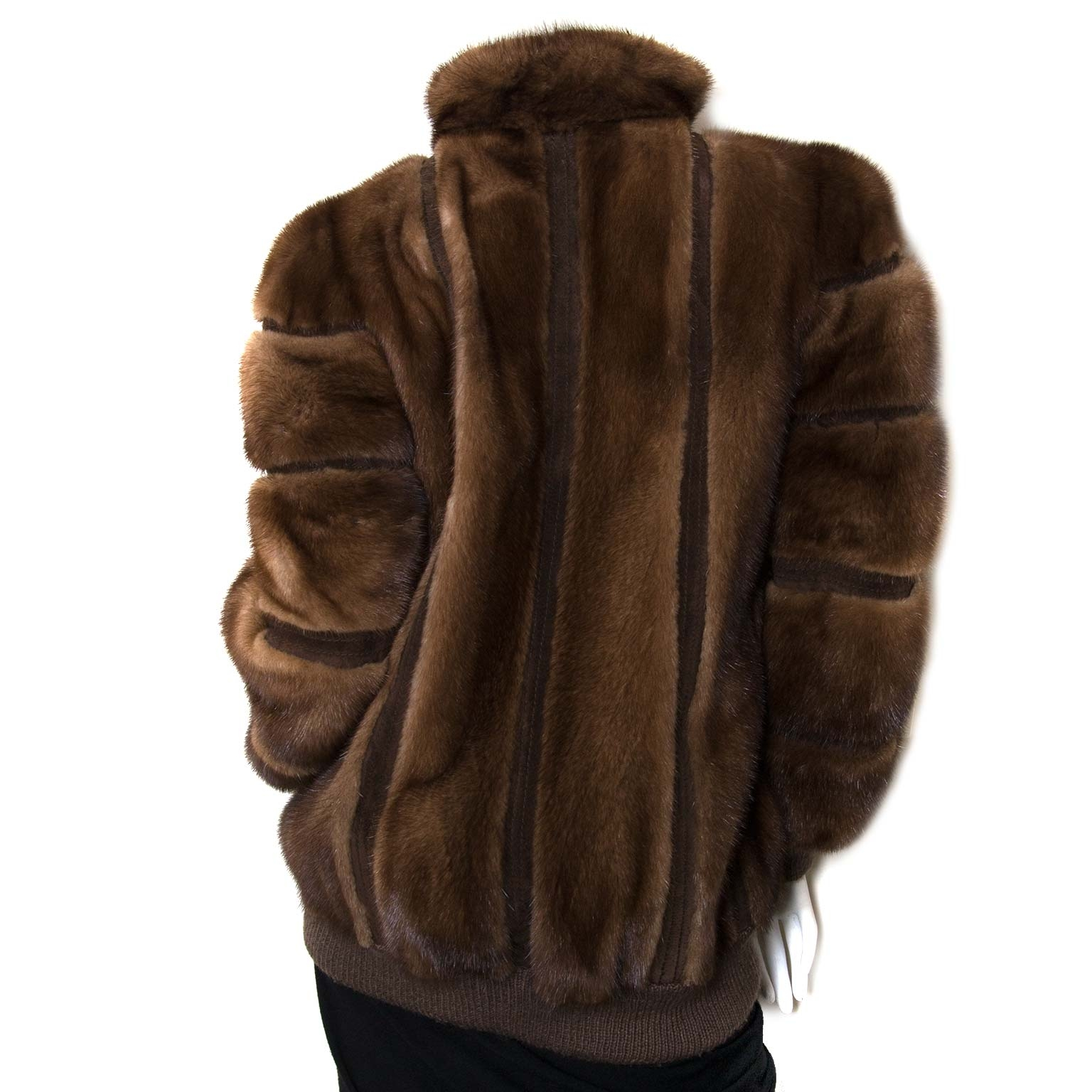 buy Christian Dior Fur Bomber Jacket at labellov for the best price