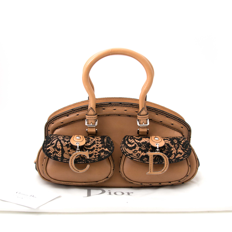 Christian Dior Medium Lace Detective Bag online at the bag