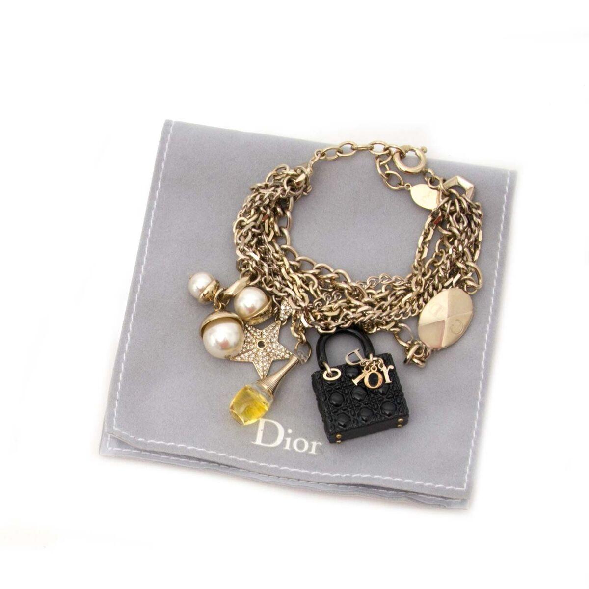Koop authentieke tweedehands Dior armband  aan een eerlijke prijs bij LabelLOV. Veilig online shoppen.