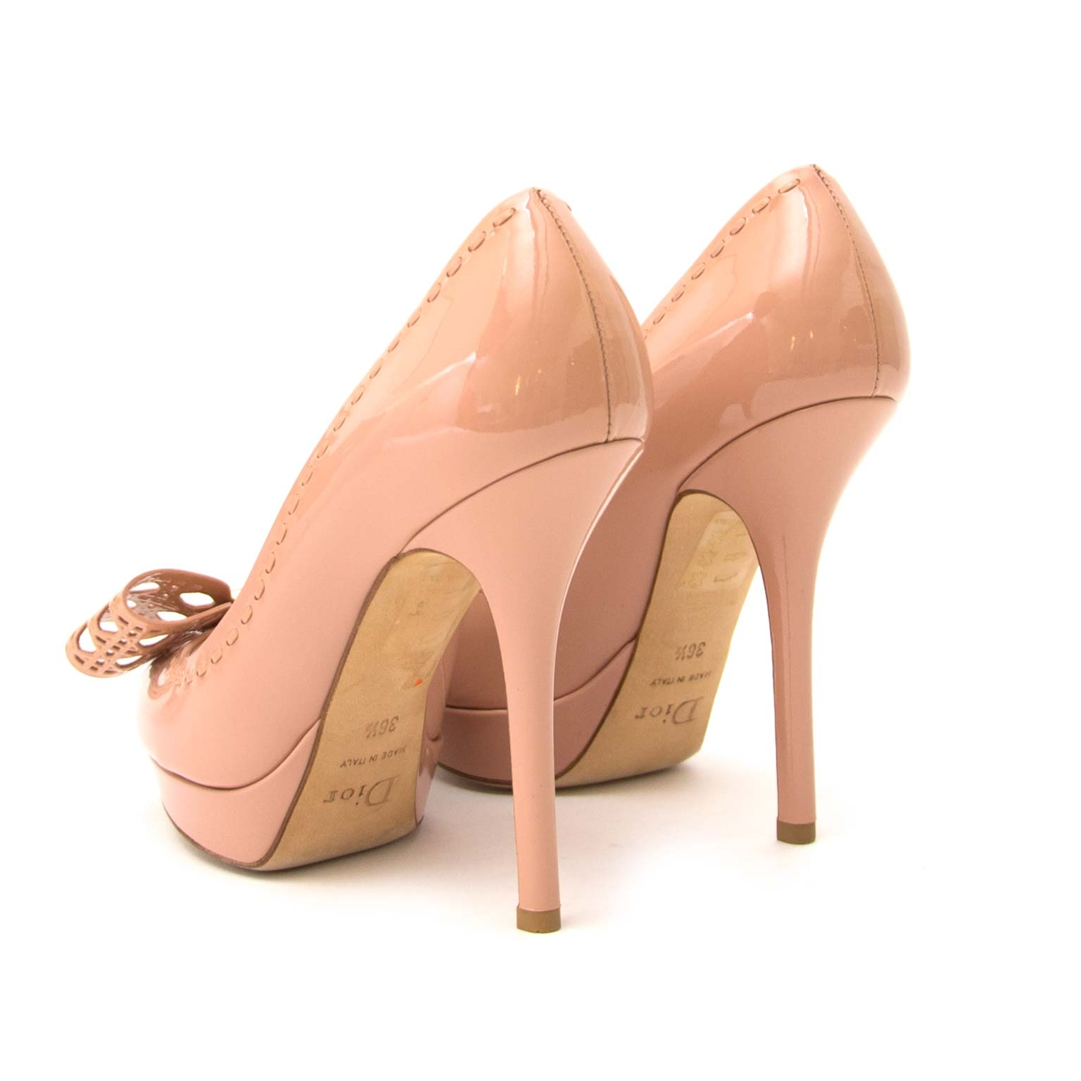 dior butterfly rosato pumps now for sale at labellov vintage fashion webshop belgium