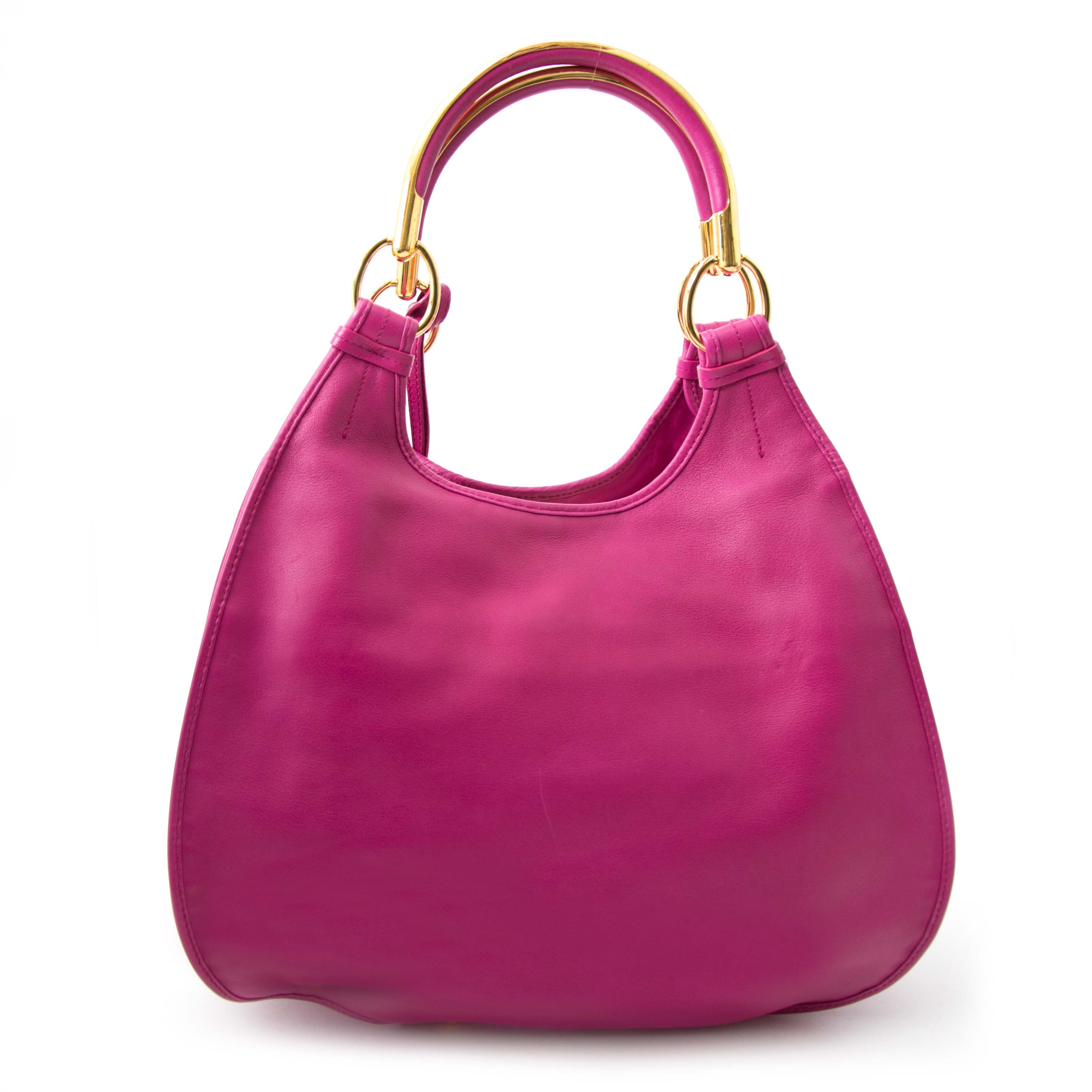 shop safe online at the best price Christian Dior Purple Bejeweled Dior 61 Bag