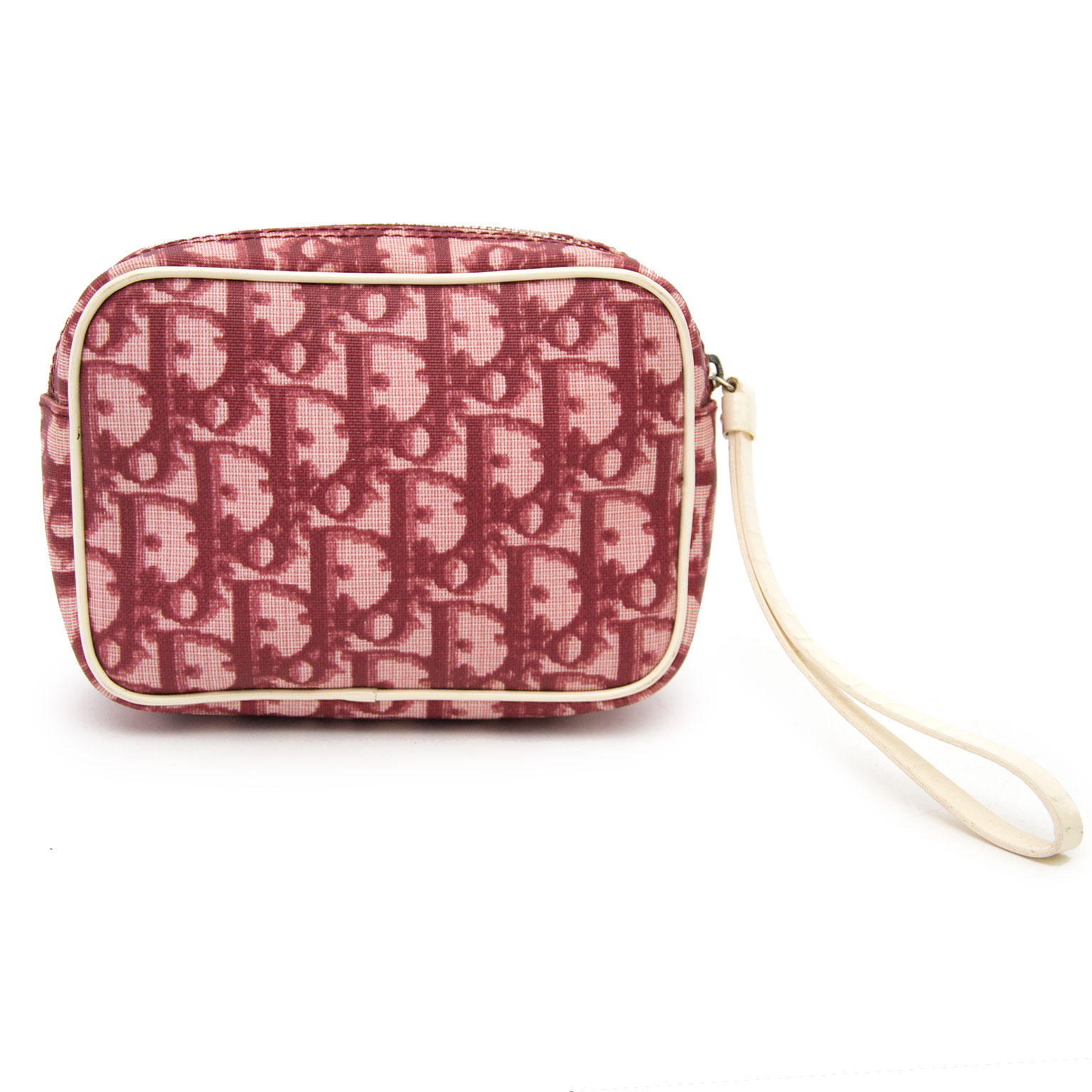 Dior monogram pochette red now online at labellov.com for the best price