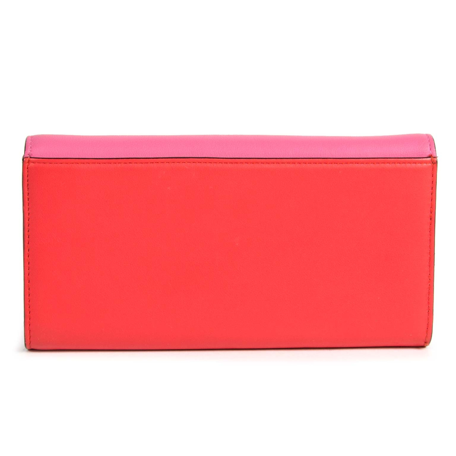buy Christian Dior Leather Wallet Red And Pink an pay save online
