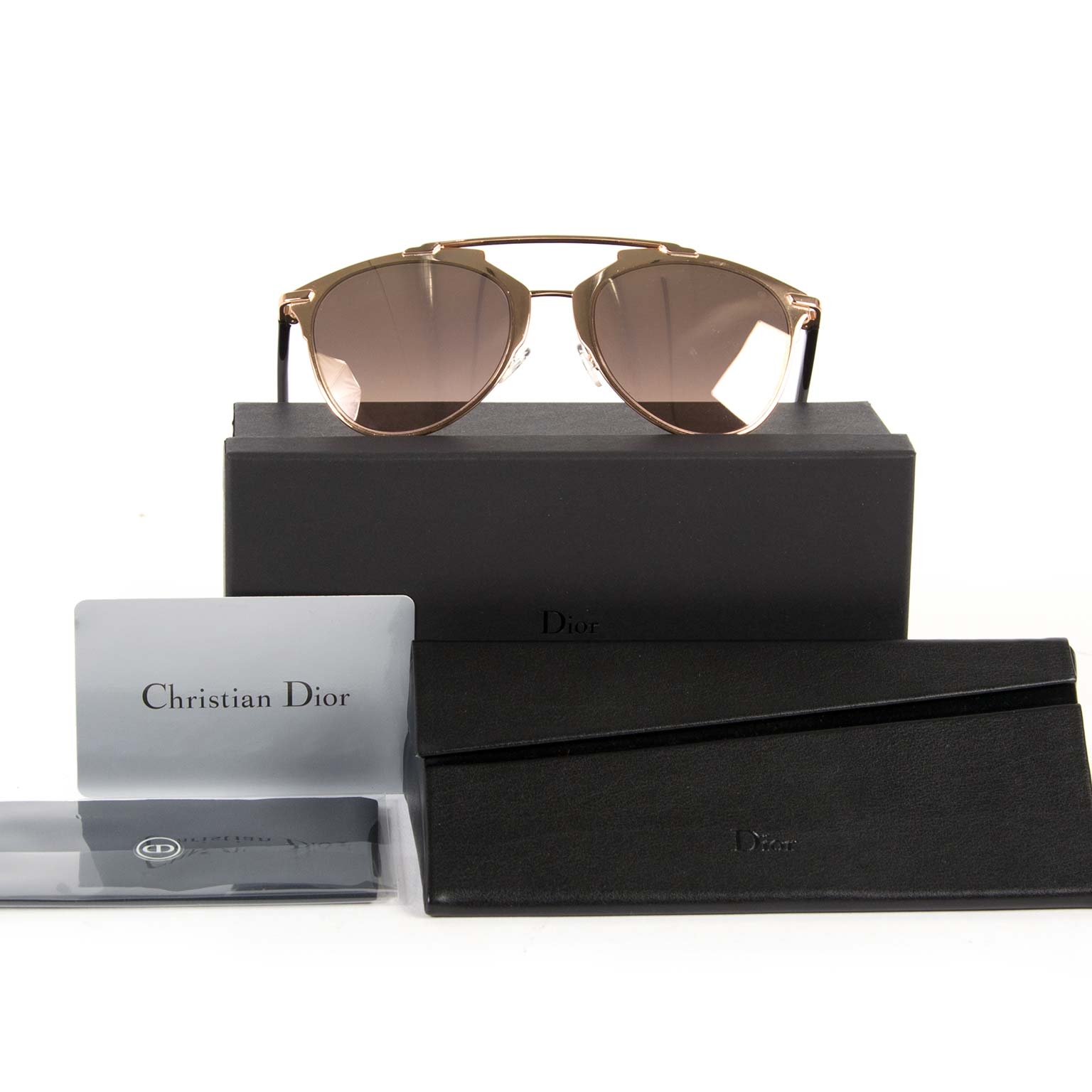 b7a1f90fcd6 ... christian dior dior reflected copper aviator sunglasses now for sale at  labellov vintage fashion webshop belgium