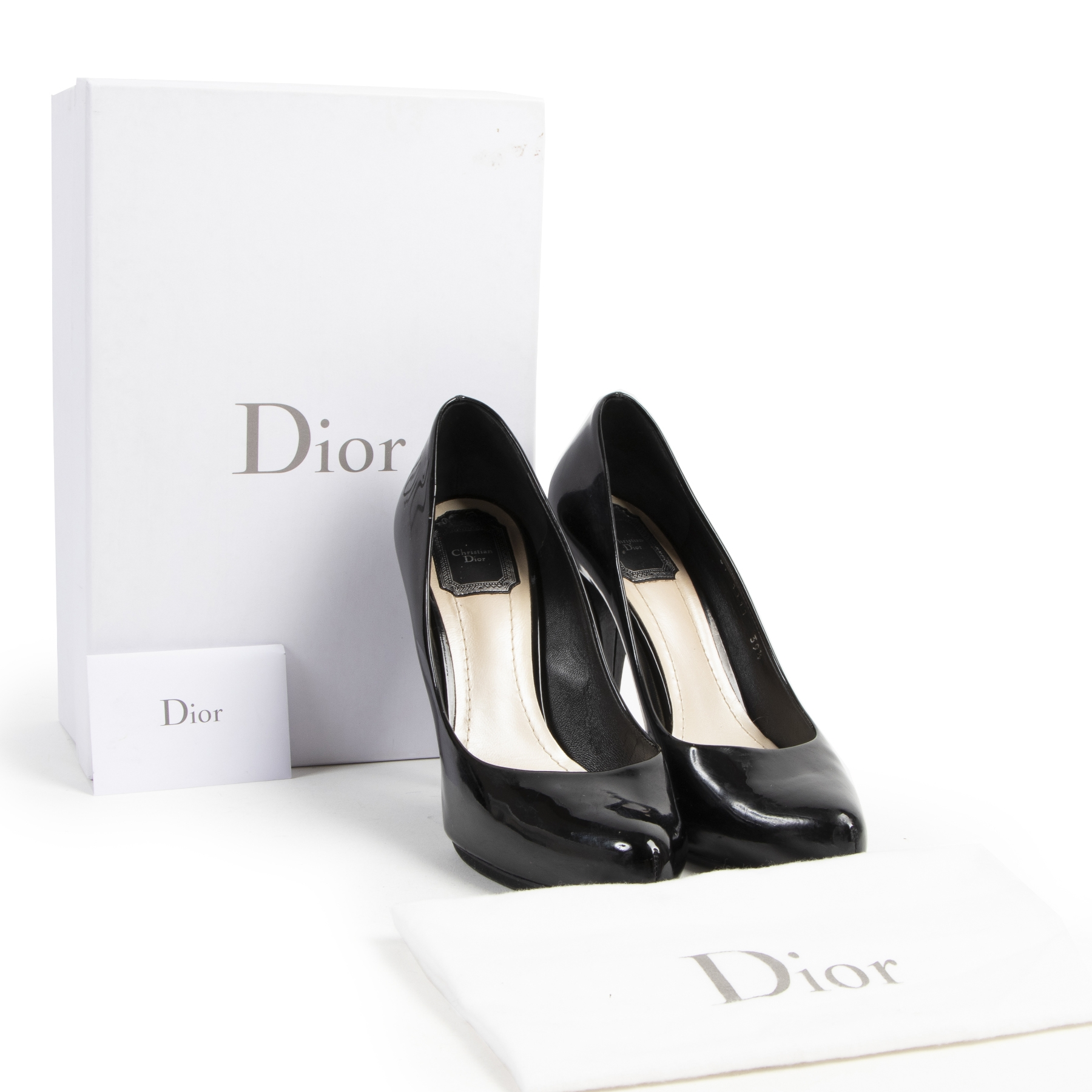 Christian Dior Miss Dior Black Pumps - size 39.5