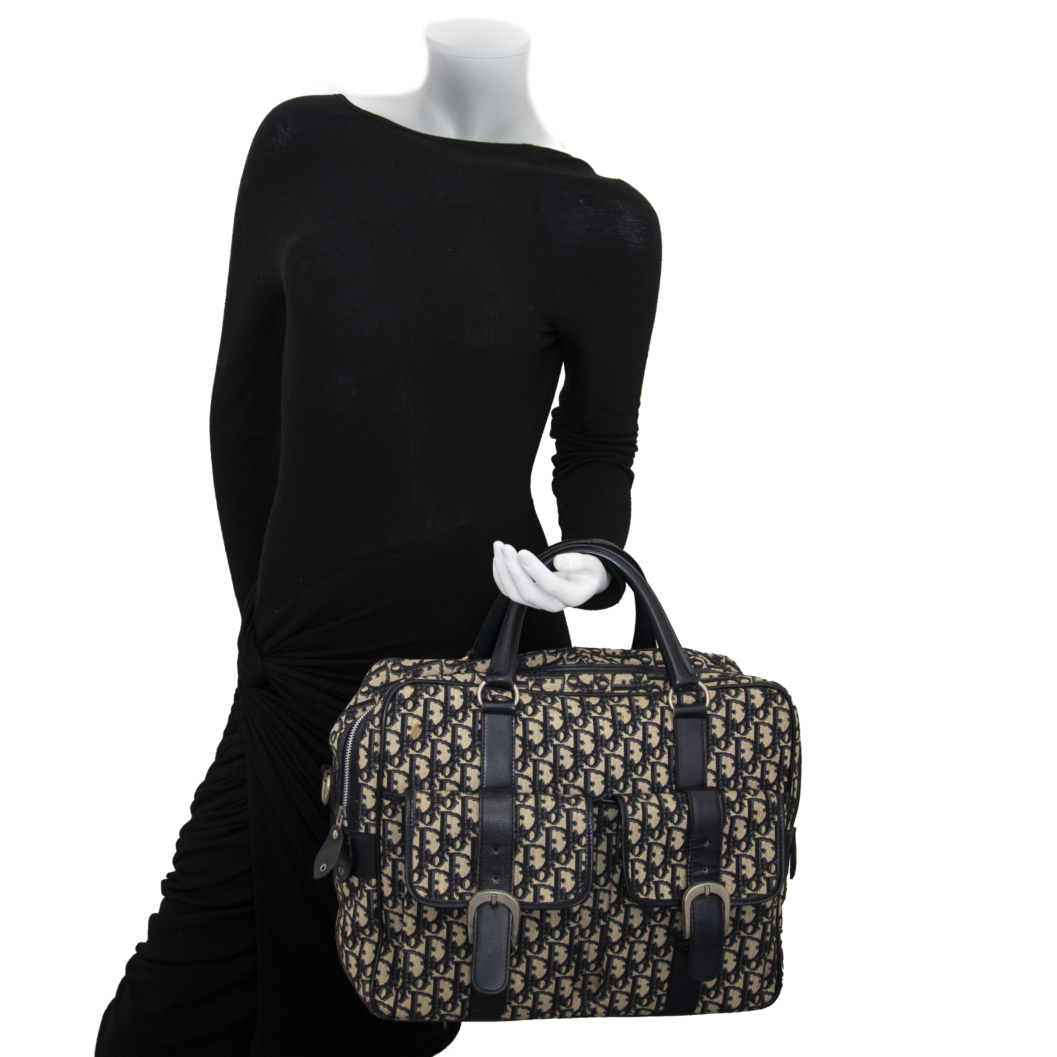 Christian Dior Monogram Travel Messenger Bag now for sale at labellov vintage fashion webshop belgium