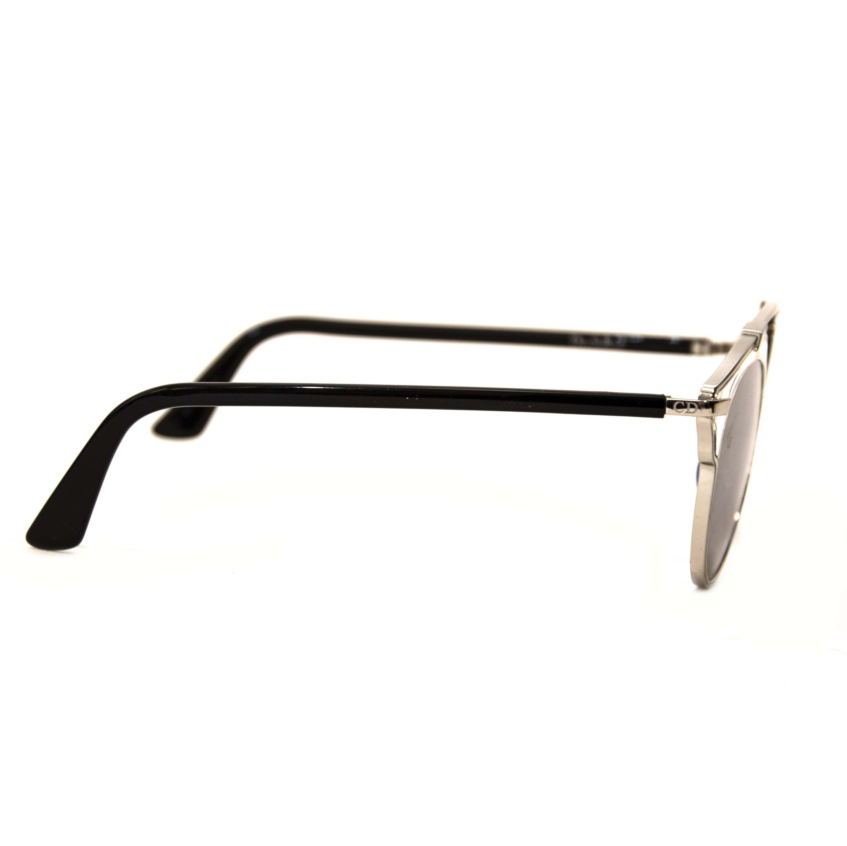 Authentique seconde main vintage Dior Soreal Sunglasses Silver achète en ligne webshop LabelLOV