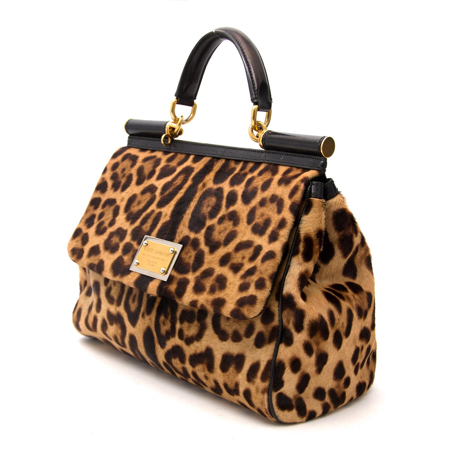 Koop en verkoop dolce & Gabbana Regular Sucily Pony Hair bij labellov.com Tweedehands tassen tegen de beste prijs.