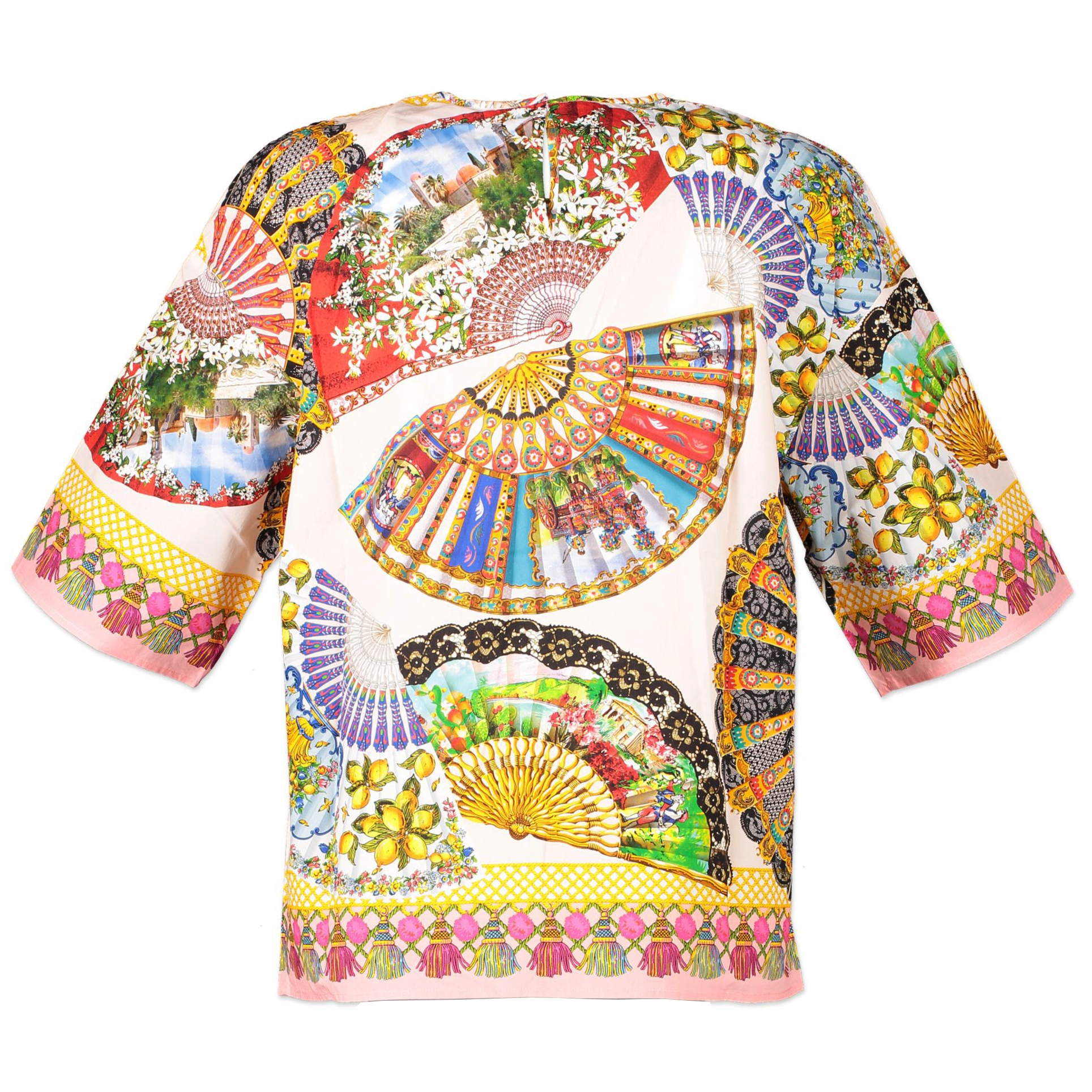 Dolce & Gabbana Print Top - size IT40