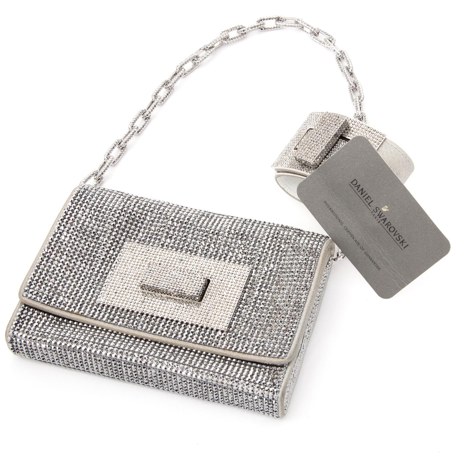 Swarovski evening bag / clutch buy safe online second hand designer Swarovski evening bag / clutch
