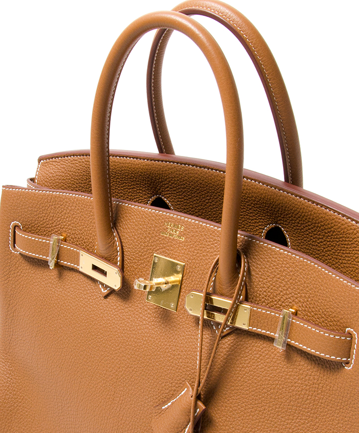 5f046a5a69f ... Hermès Birkin Gold 35cm Togo seconde main authentique en ligne shopping  webshop Anvers Belgique LabelLOV mode