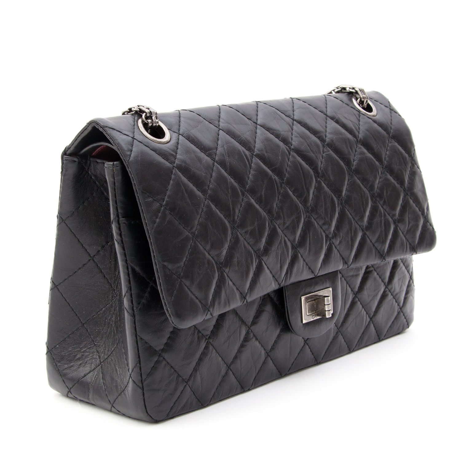 96623473fa3 ... Chanel black 2.55 Reissue - 226 Labellov provides a platform to buy and  sell preloved secondhand