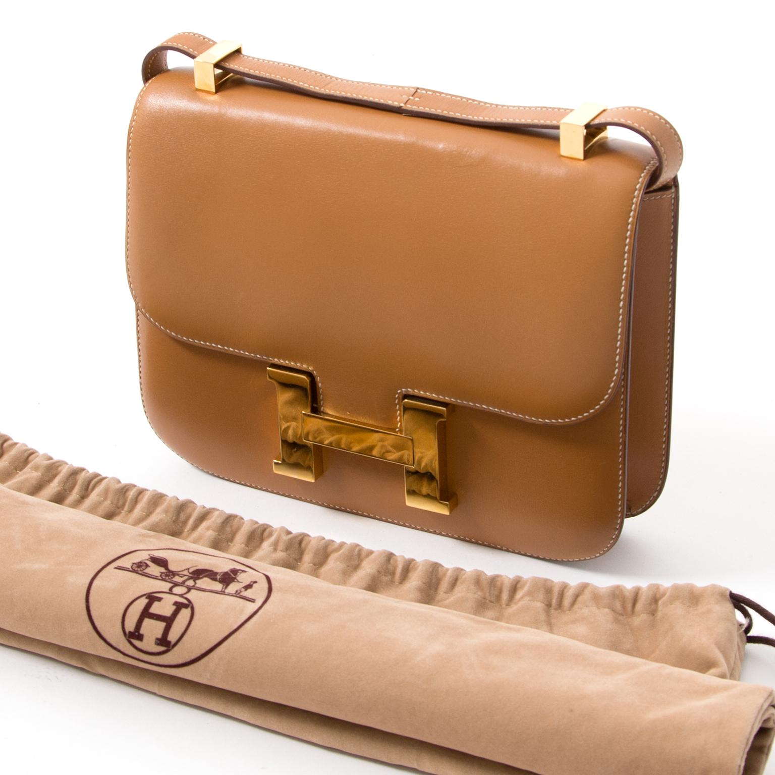authentic gold Constance Hermes vintage secondhand webshop safe and secure designer shopping Labellov veilig tweedehand luxe merken tassen
