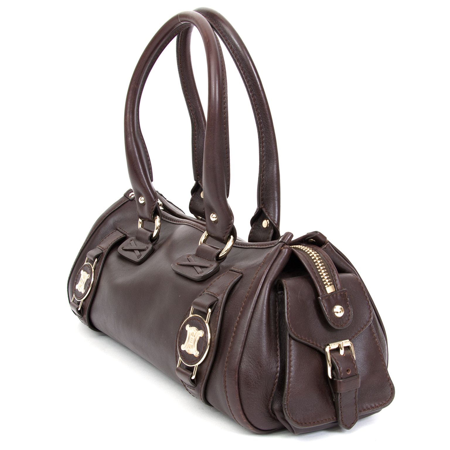 a860742afc4a ... Preowned Céline Oxblood Cilinder Bag. Buy authentic secondhand Céline  bags at the right price at