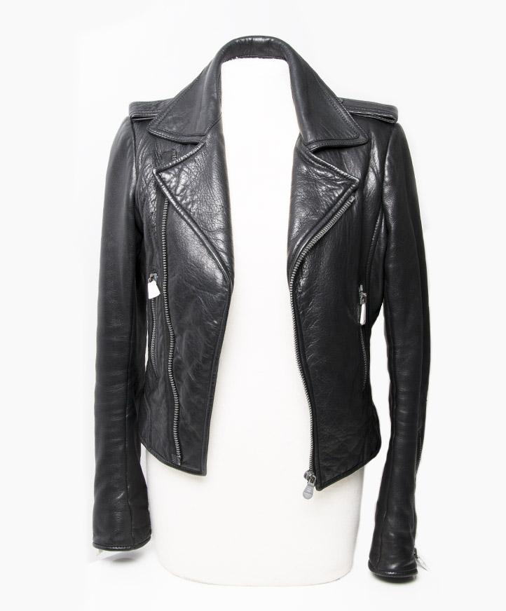 5d7d0589716 Balenciaga Black Leather Jacket Contemporary Fashion at Labellov webshop  online safe shopping Antwerp Belgium