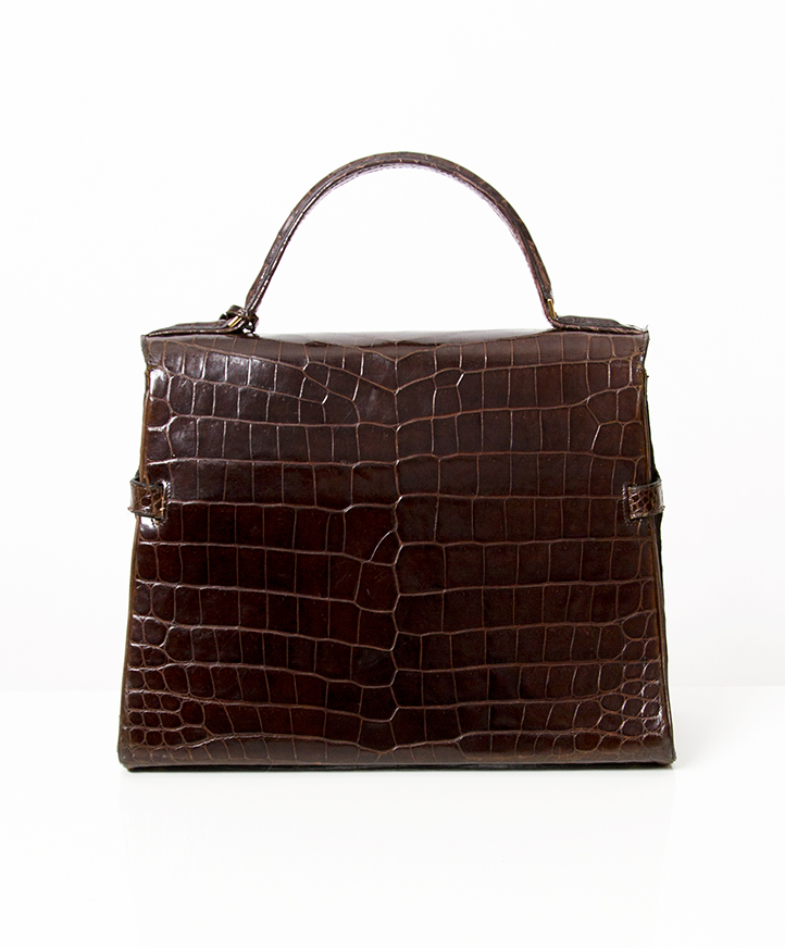b54b7e668f0d ... Authentic Delvaux Tempete second hand vintage brands croco GM right  price safe online shopping buy vintage