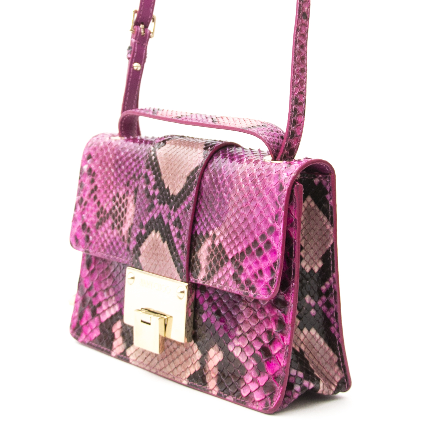 shop online your secondhand Jimmy Choo Python Mini Rebel Bag
