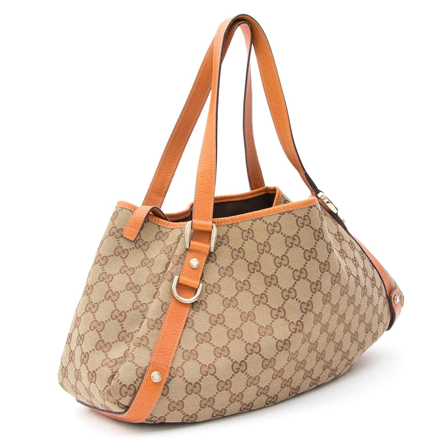 48a92abf1 Buy authentic secondhand Gucci bags at Gucci monogram abbey shoulder bag  secondhand for the best price at Labellov designer consignment shop in