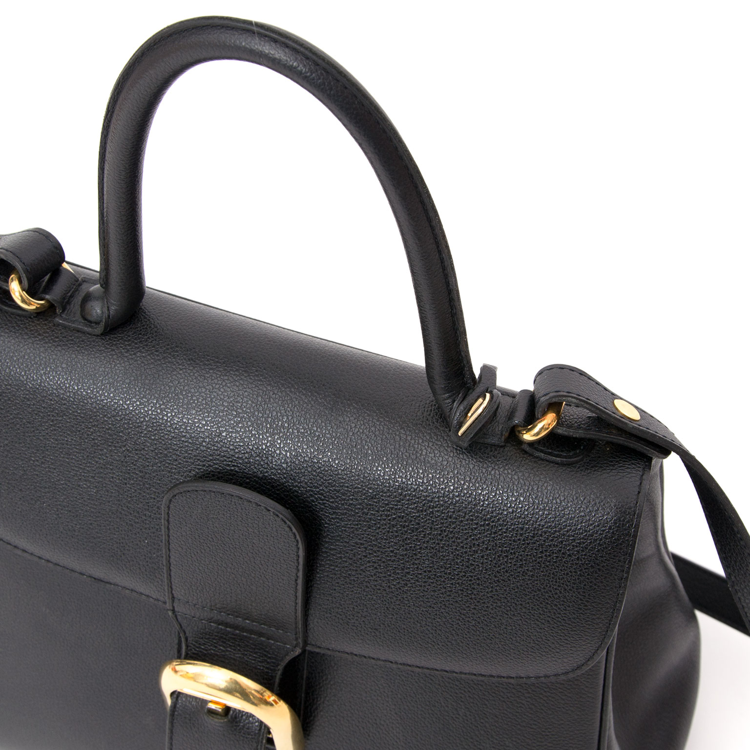 78661a91fe5 ... Delvaux Black Brillant MM + STRAP tweedehands te koop lablellov.com  veilig