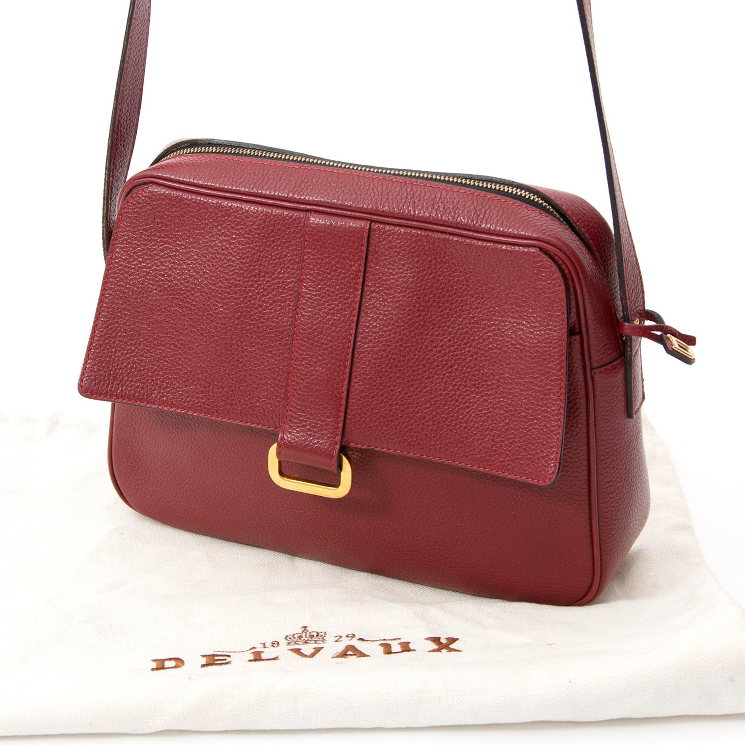 Luxury Delvaux handbag brand exclusively at Labellov