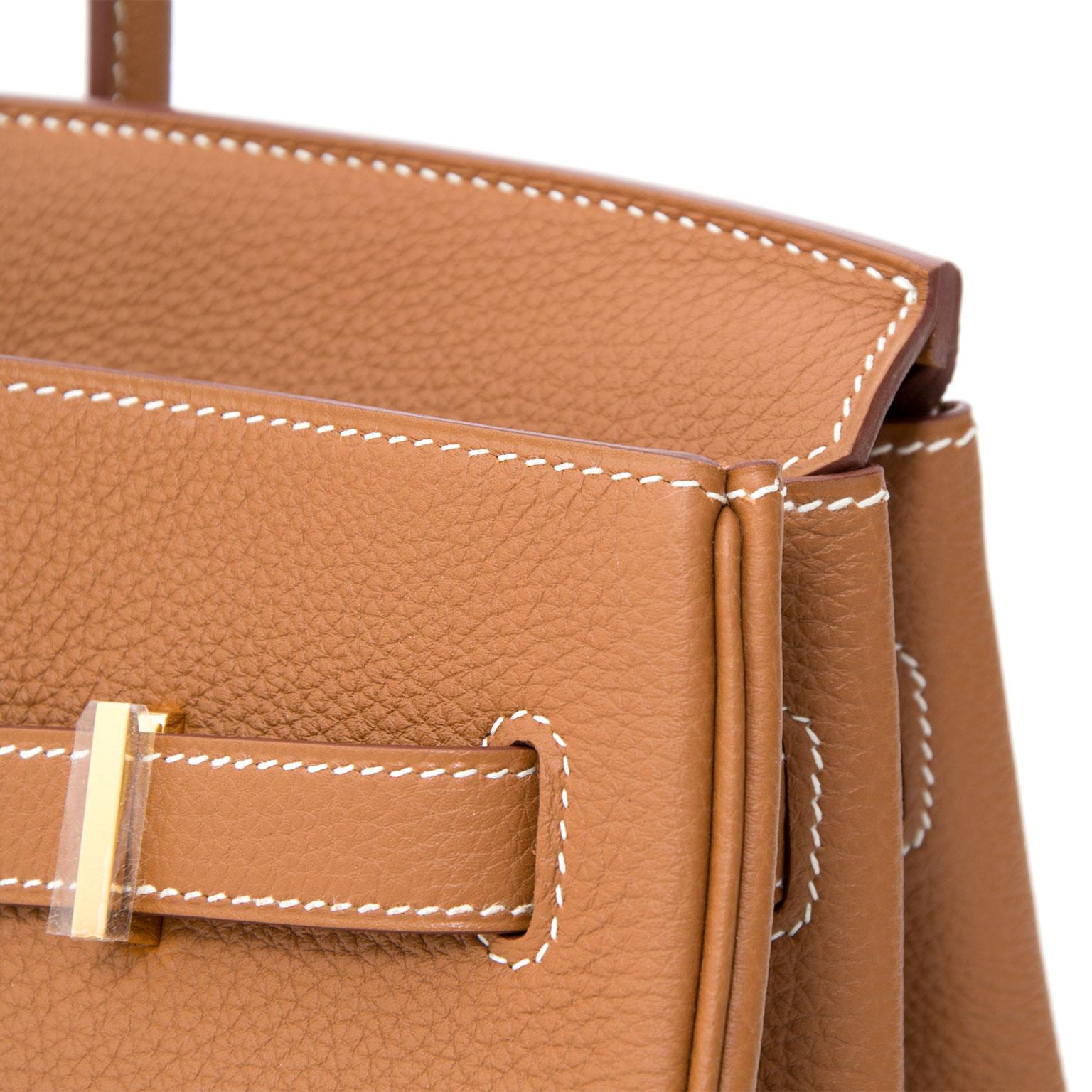 5b443989d9 ... Brand New Hermès Birkin 35 Gold GHW Togo achter en ligne pour le  meilleur prix pour · Hermes