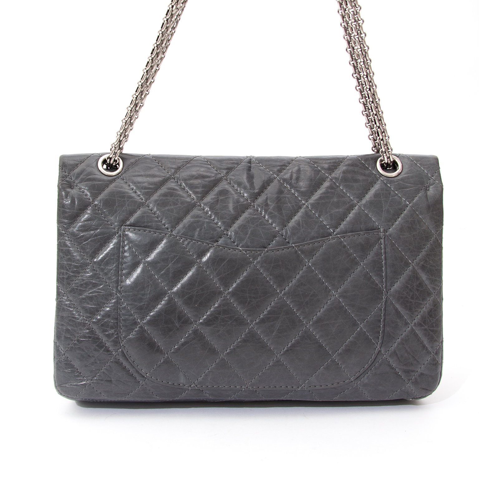 Labellov provides a platform to buy Chanel 2.55 Quilted Lambskin Classic  Flap Bag This is an authentic quilted lambskin Chanel 2.55 Flap ec733c67ba629