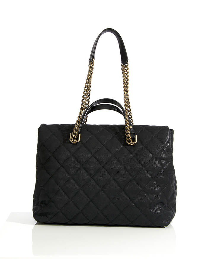 87f399843957b4 Chanel Original Leather Jumbo Flap Bag A47600 Black Gold. Sold. Chanel  Large Tote Collection Spring/Printemps 2013 Black Grained Calfskin new vintage  Chanel ...