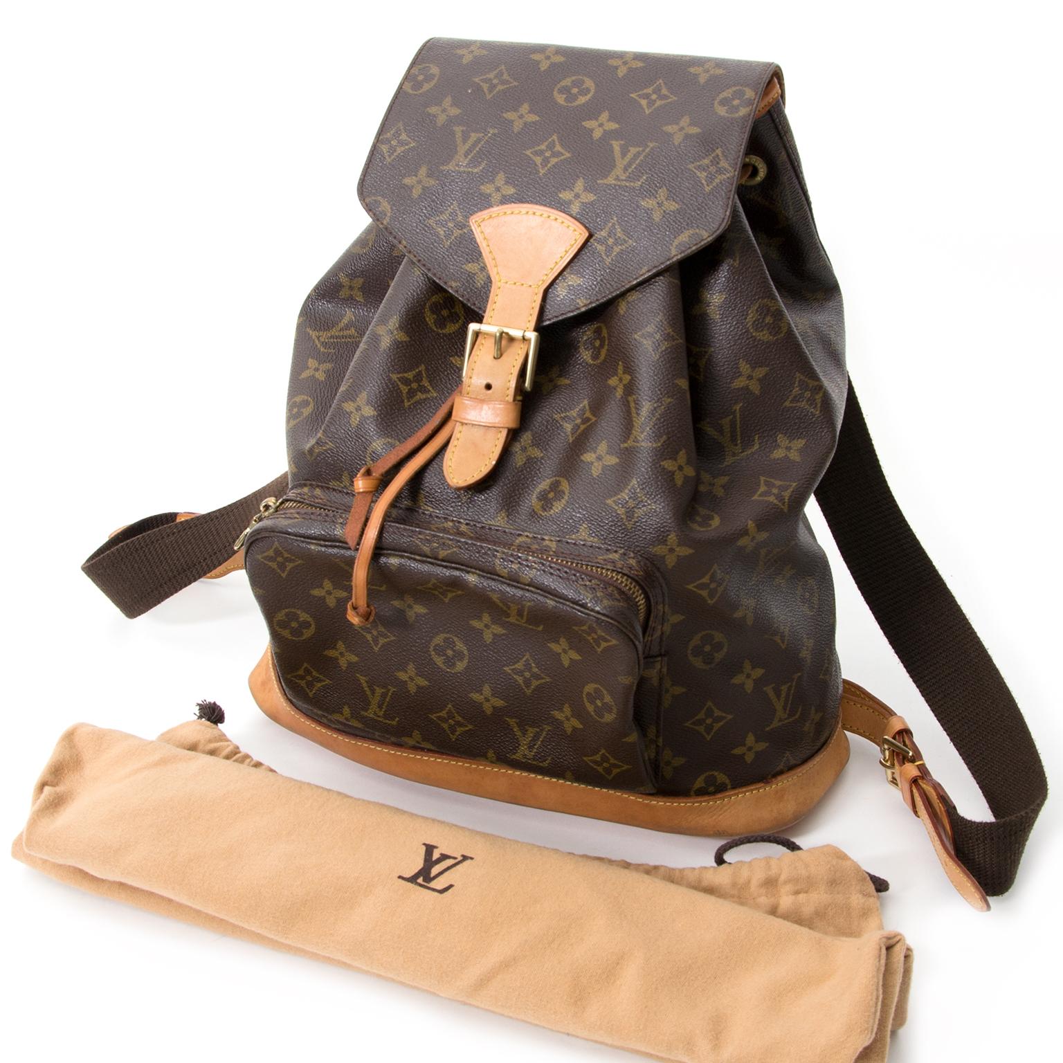 268260db64 ... sac a main Louis Vuitton Monogram. buy safe online secondhand Louis  Vuitton Monogram Backpack best price like new , acheter en linge