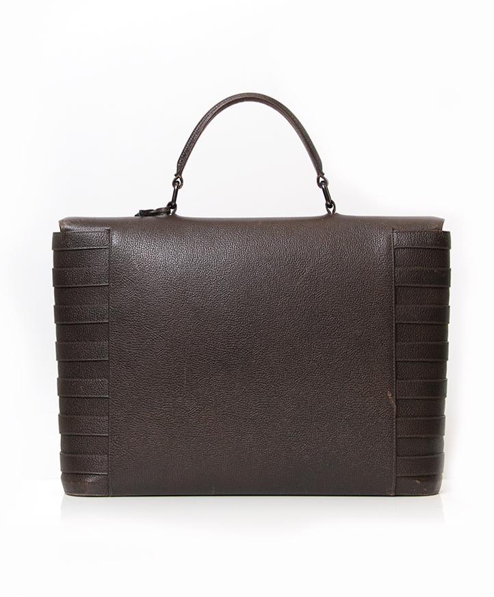 buy safe online second hand designer vintage delvaux briefcase