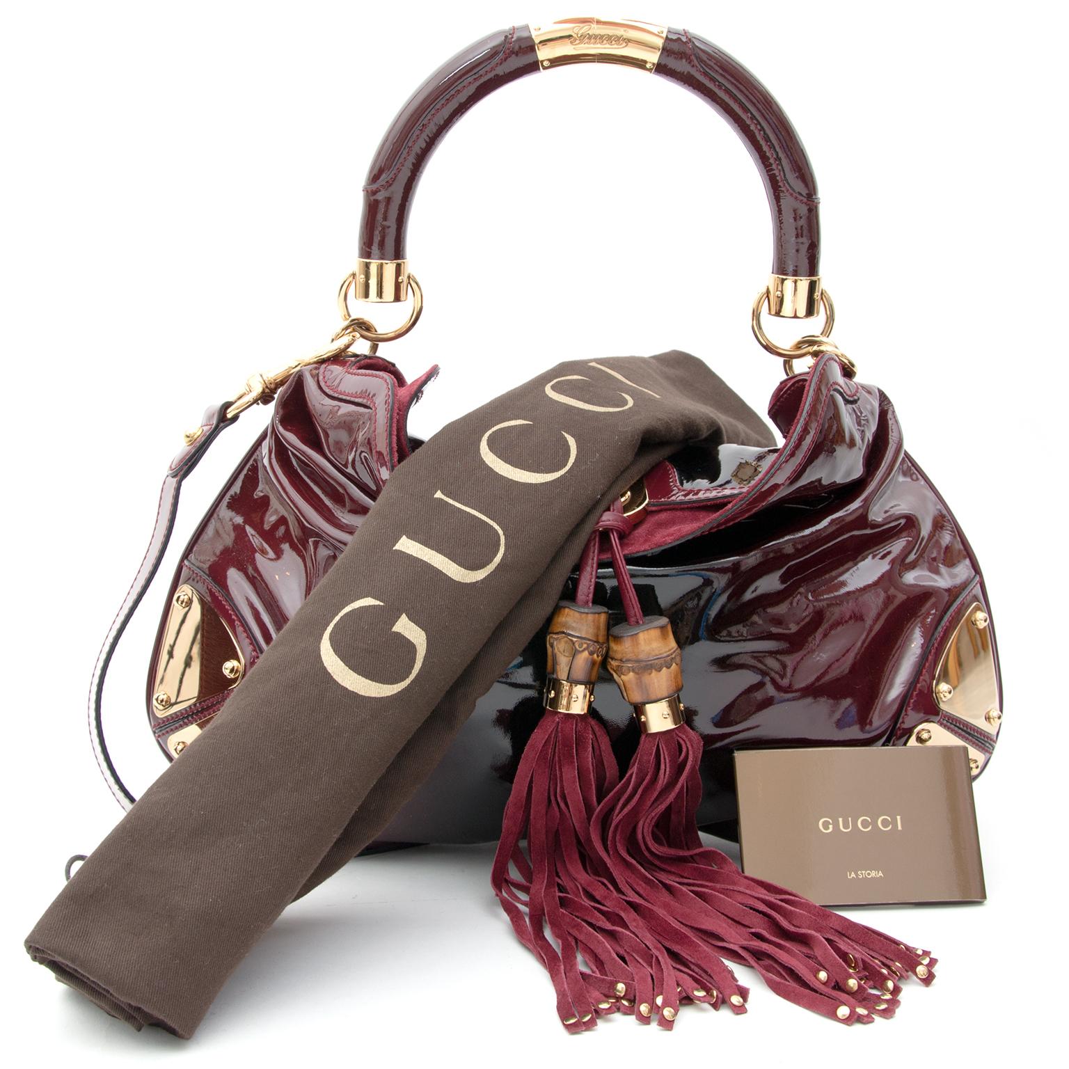 c167c59377 ... acheter en ligne seconde main sac a main Gucci Bouska ombre sac en cuir  site en